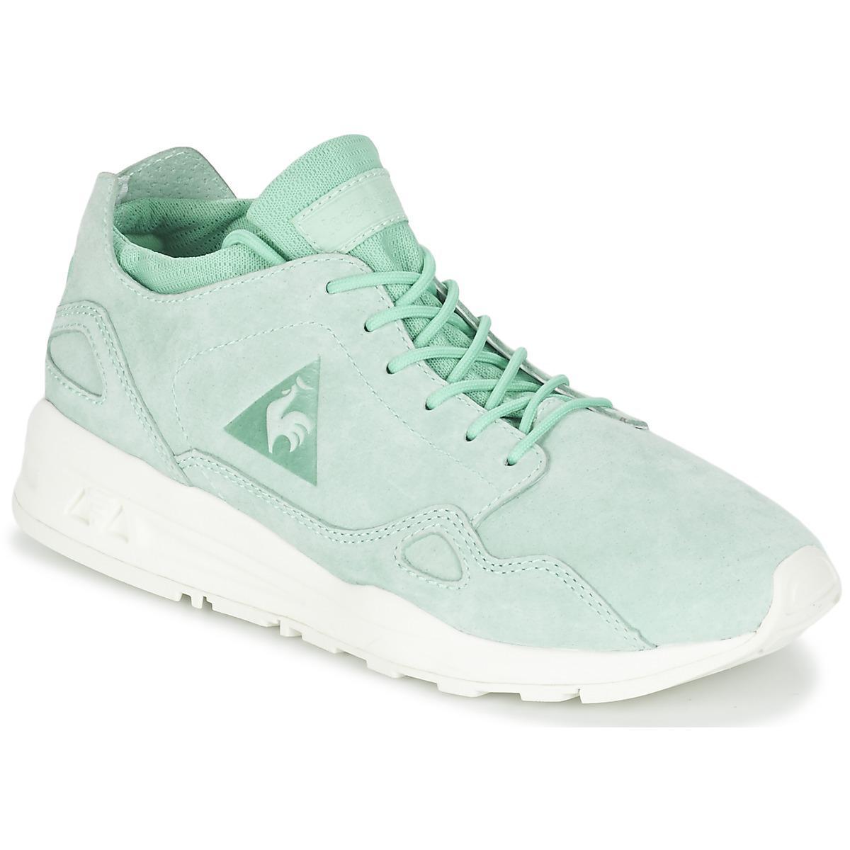 3e89ab11b493 Le Coq Sportif Lcs R Flow W Nubuck Women s Shoes (trainers) In Green ...