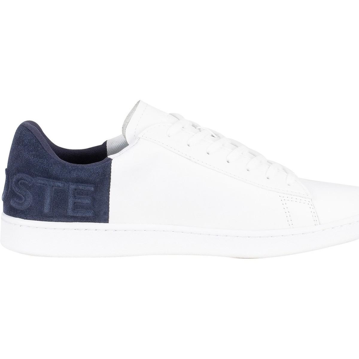 1026fd0554ce Lacoste Men s Carnaby Evo 318 2 Qsp Spm Leather Trainers