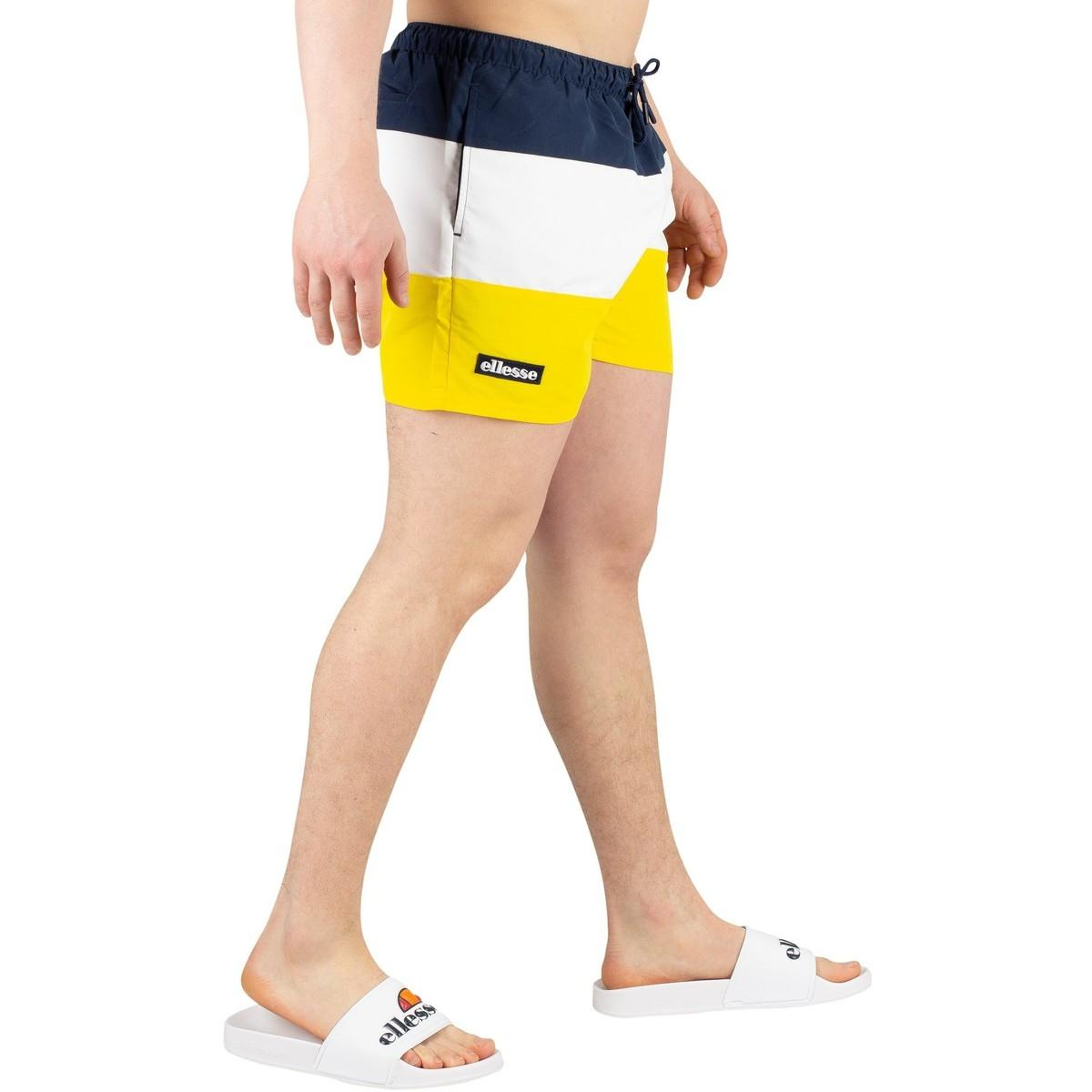 08d7d0b5fb Ellesse - Men's Cielo Swimshorts, Yellow Men's Shorts In Yellow for Men -  Lyst. View fullscreen