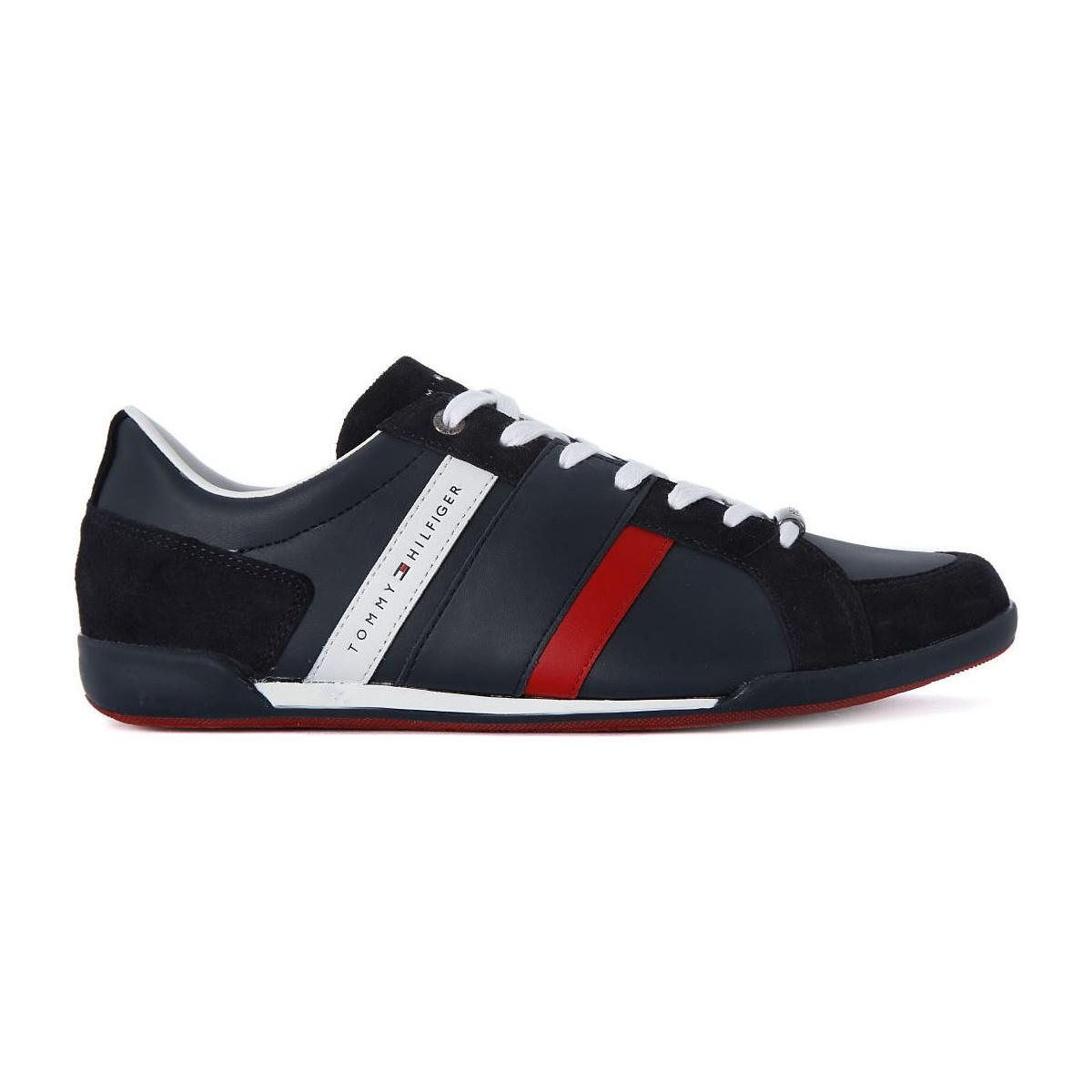 c15ecb3c04a3 Tommy Hilfiger Crosta Midnight Men s Shoes (trainers) In Blue in ...