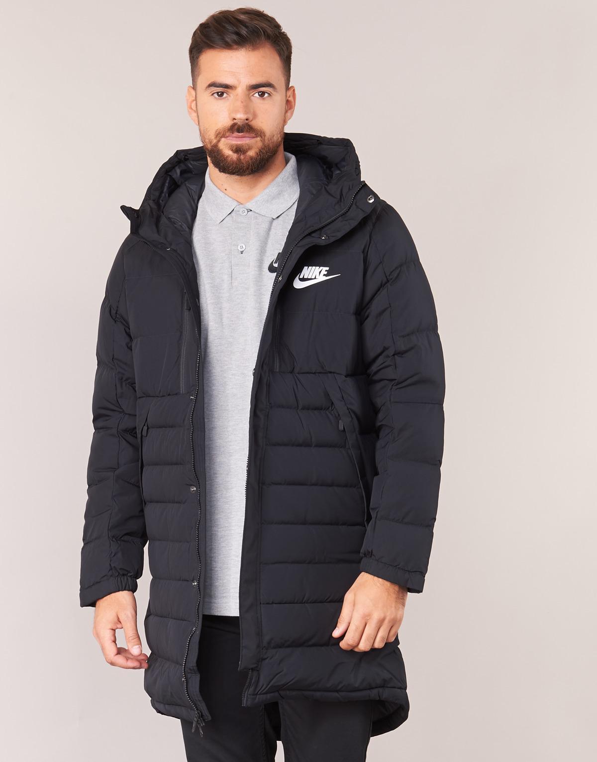 c933d226 Nike Down Fill Parka Men's Jacket In Black in Black for Men - Lyst
