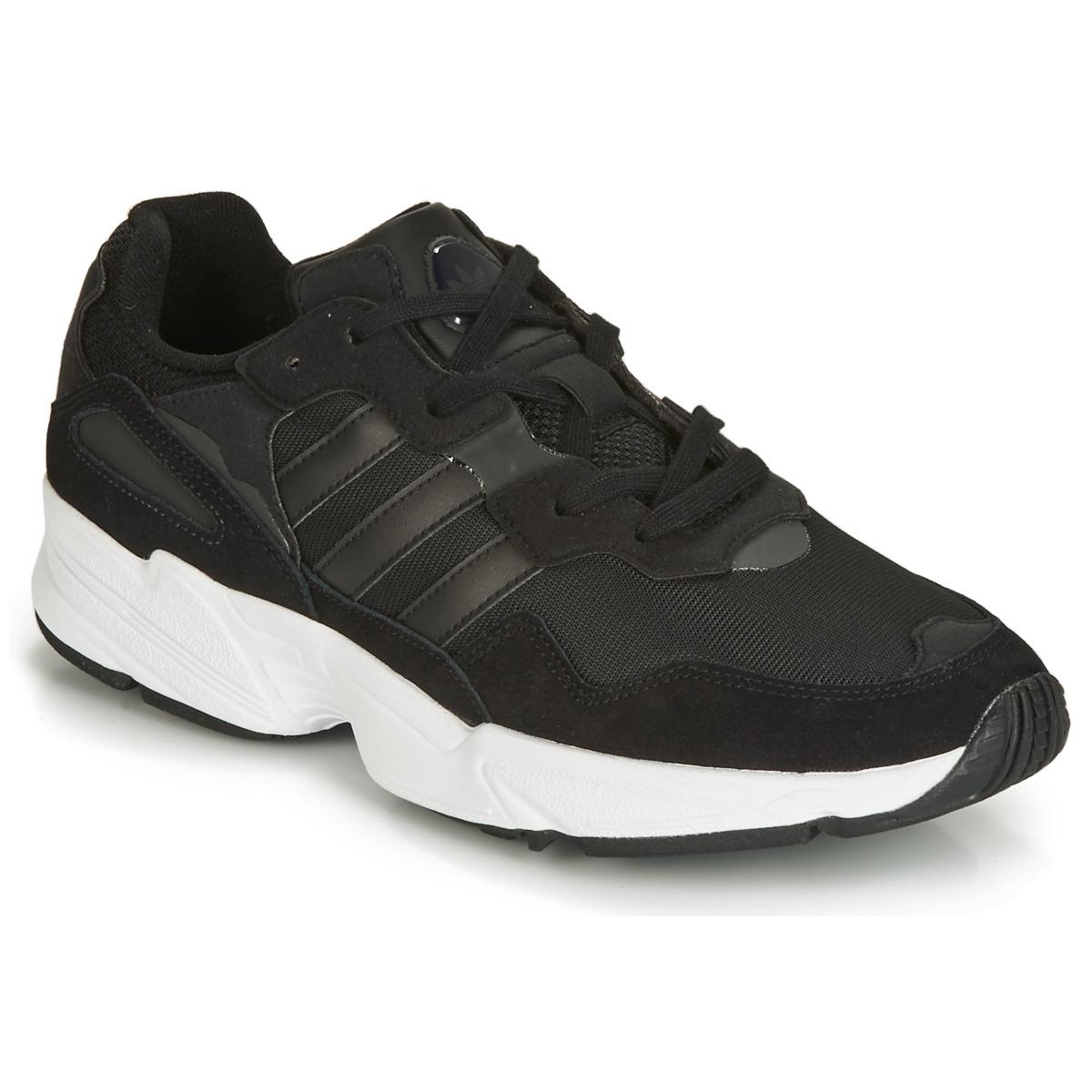 f7745461cdb7 adidas Falcon Women s Shoes (trainers) In Black in Black - Lyst