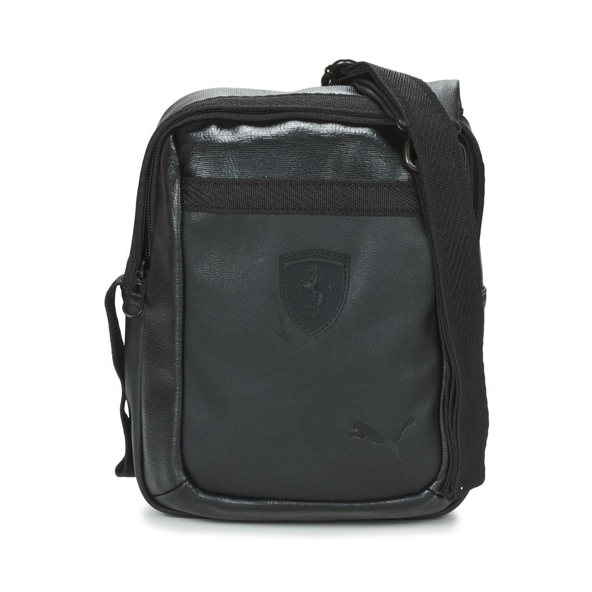 PUMA Ferrari Ls Portable Men s Pouch In Black in Black for Men - Lyst e7017ab16dc0c