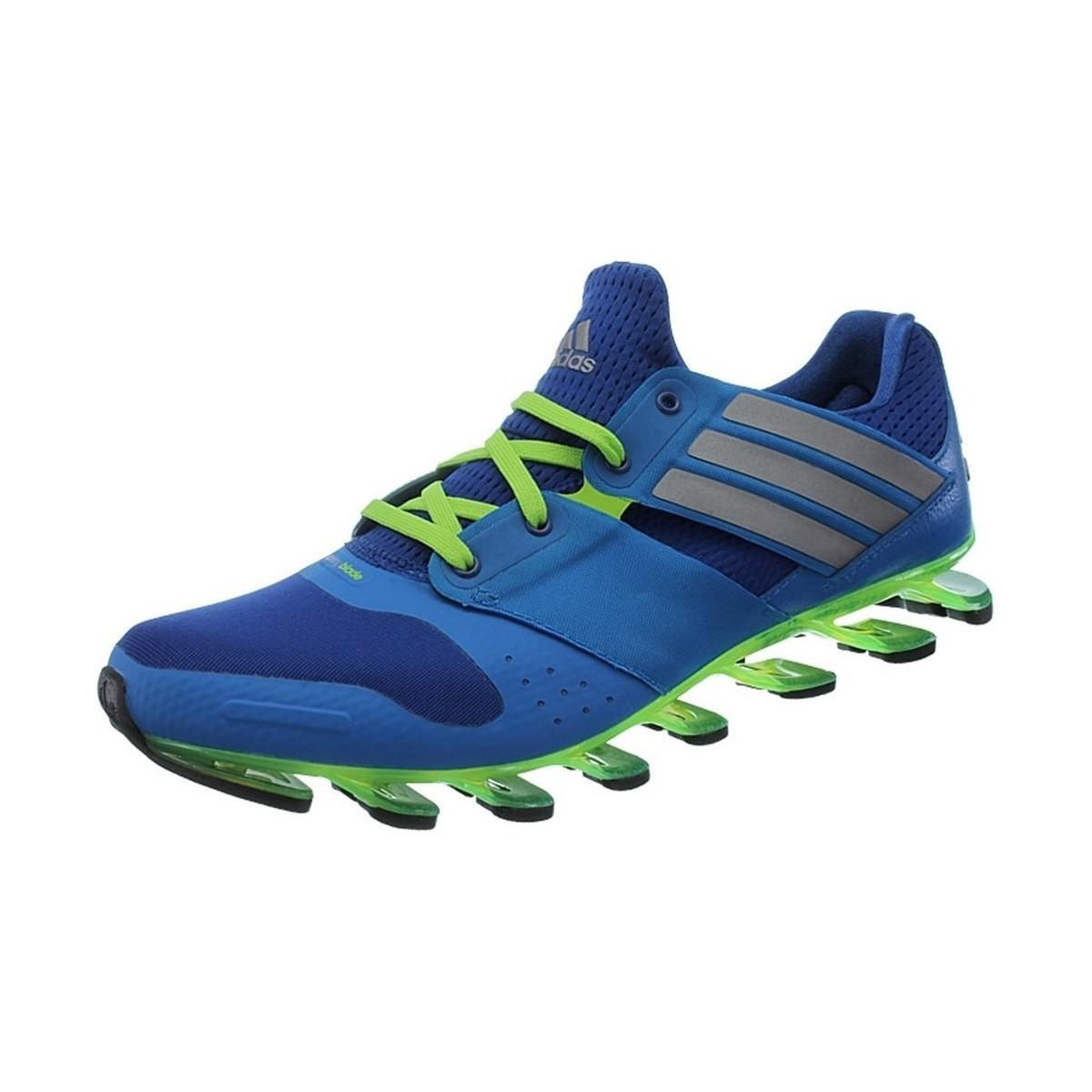 online store bda36 dbf08 ... discount adidas. springblade solyce mens running trainers in green  b5409 a8fc0