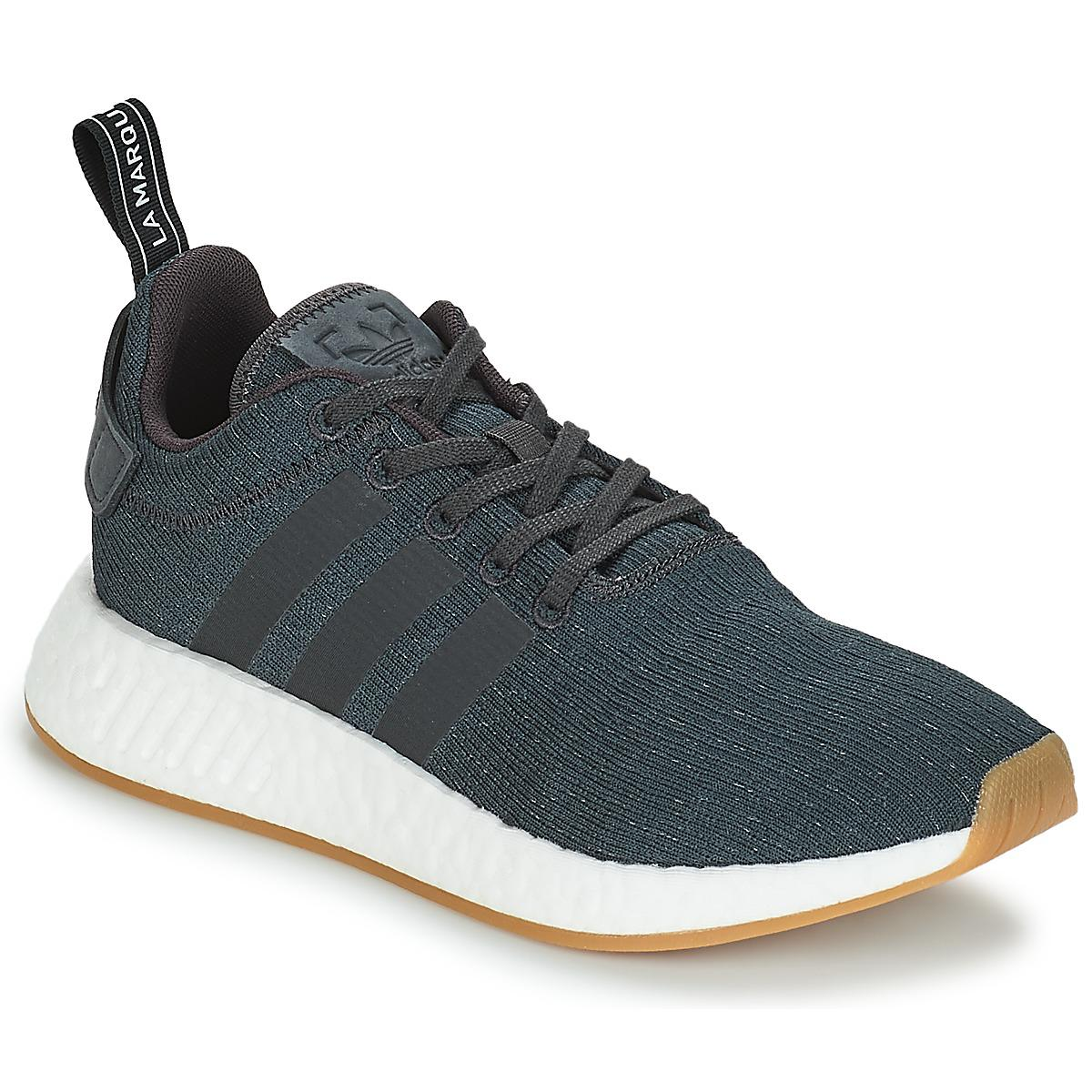 ba89f581e adidas Nmd R2 Summer Men s Shoes (trainers) In Multicolour in Blue ...
