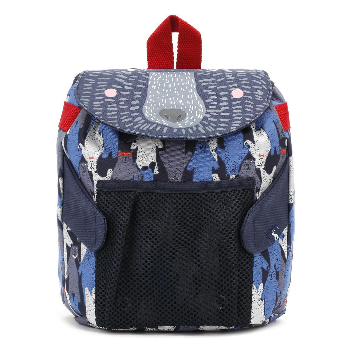 Joules Black Multi Bear Camo Buddie Bag Boys s Children s Backpack ... a4602dbeb822f