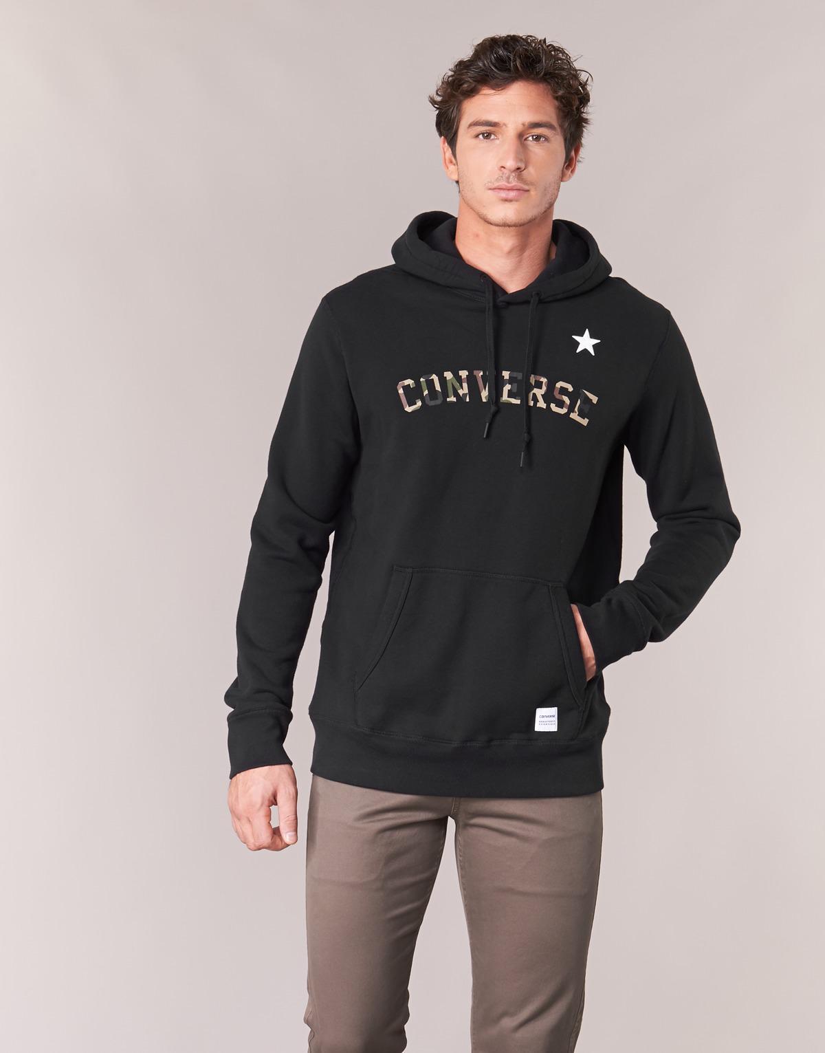 88e98ed8d8d0 Converse Essentials Camo Star Pullover Hoodie Men s Sweatshirt In ...