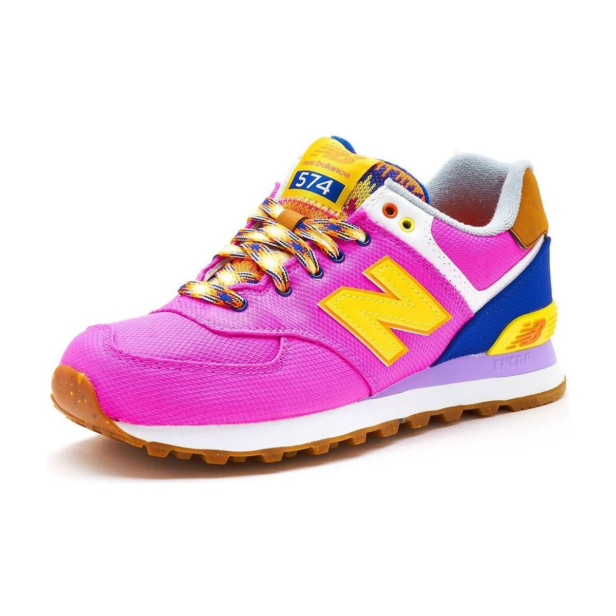 finest selection 6aaf2 5ca73 Gallery. Previously sold at  Spartoo · Women s Yellow Shoes Women s New  Balance 574