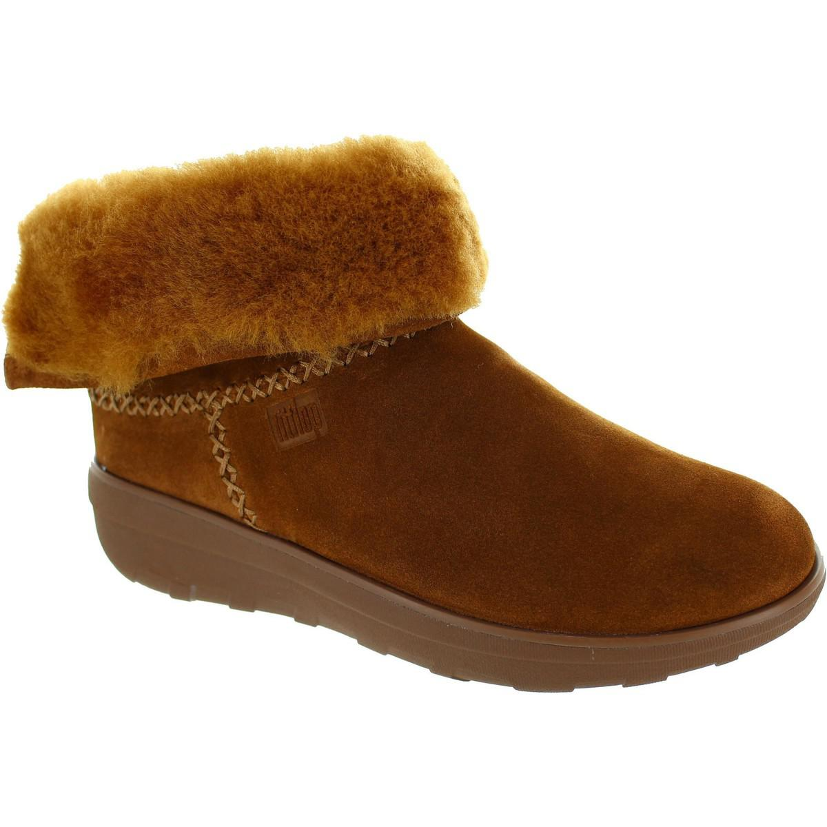 b28f23beb5c1e2 Fitflop Mukluk Shorty 2 Women s Snow Boots In Brown in Brown - Lyst