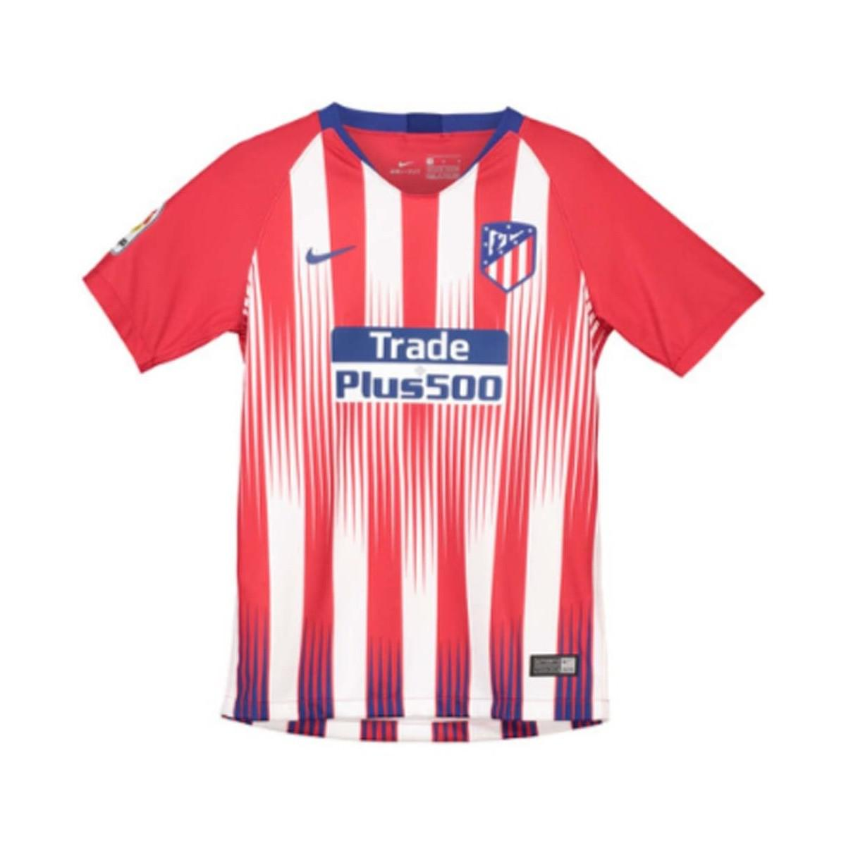 71e1757c58b4e Nike 2018-2019 Atletico Madrid Home Shirt (kids) Men s T Shirt In ...