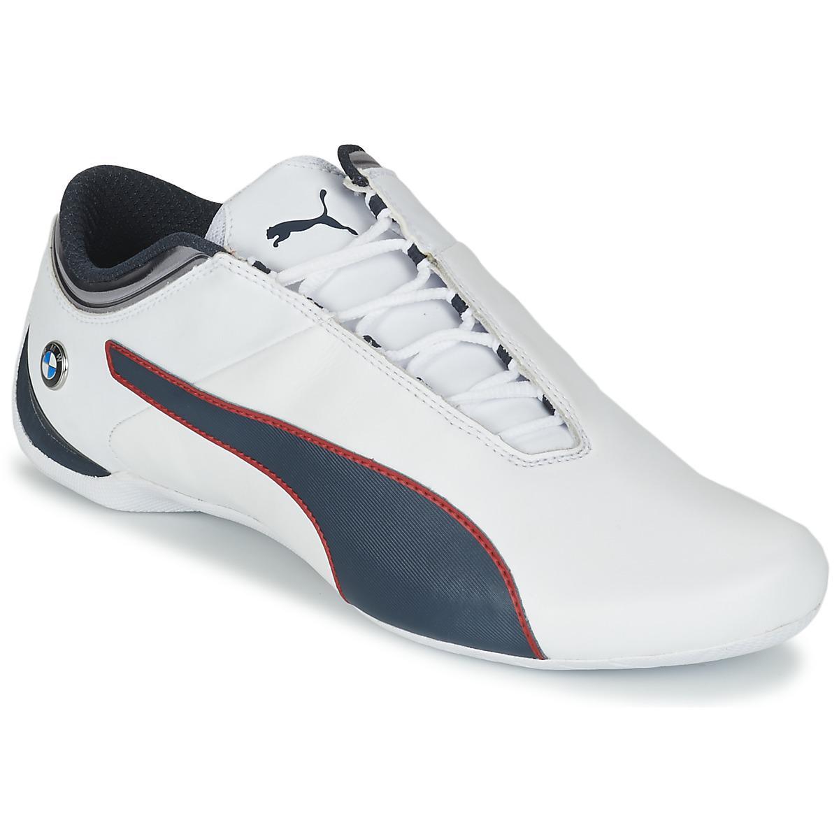 27a571222443 Puma Bmw Ms Future Cat Mu Men s Shoes (trainers) In White in White ...