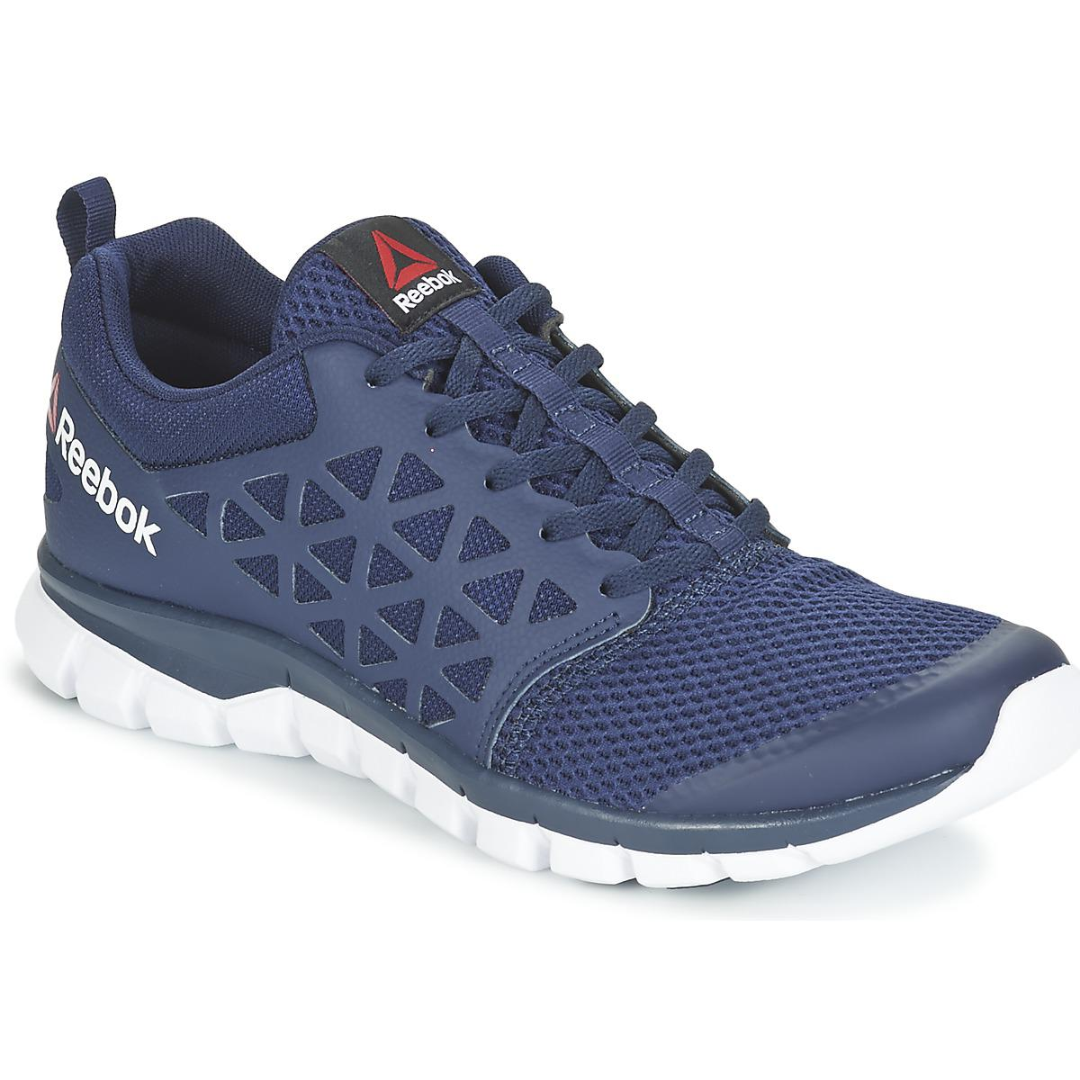 Reebok Sublite Xt Cushion Men s Running Trainers In Blue in Blue for ... 5b8b78af1