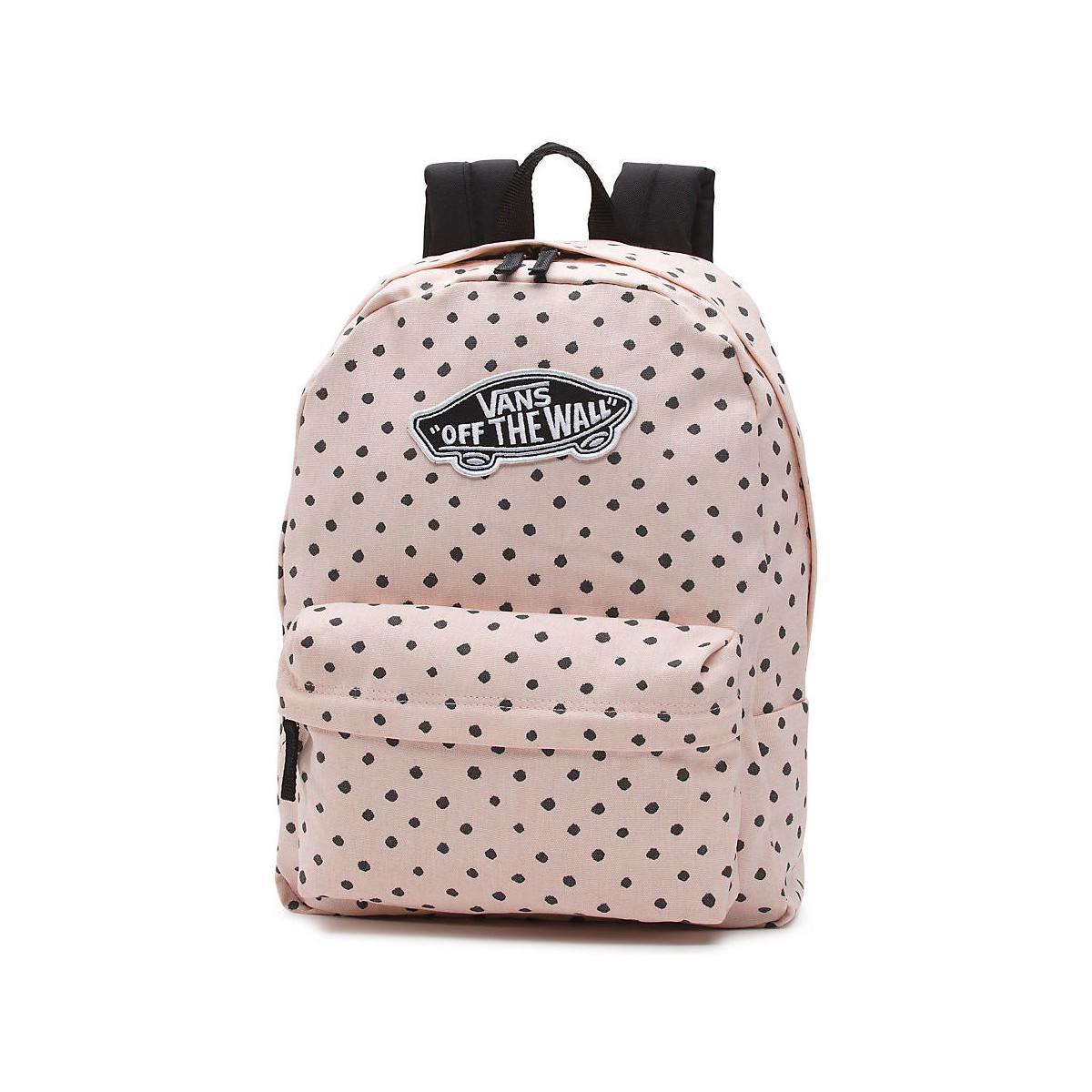 afa377f0dea38 Vans Mochila Realm Backpack Women s Backpack In Pink in Pink - Lyst