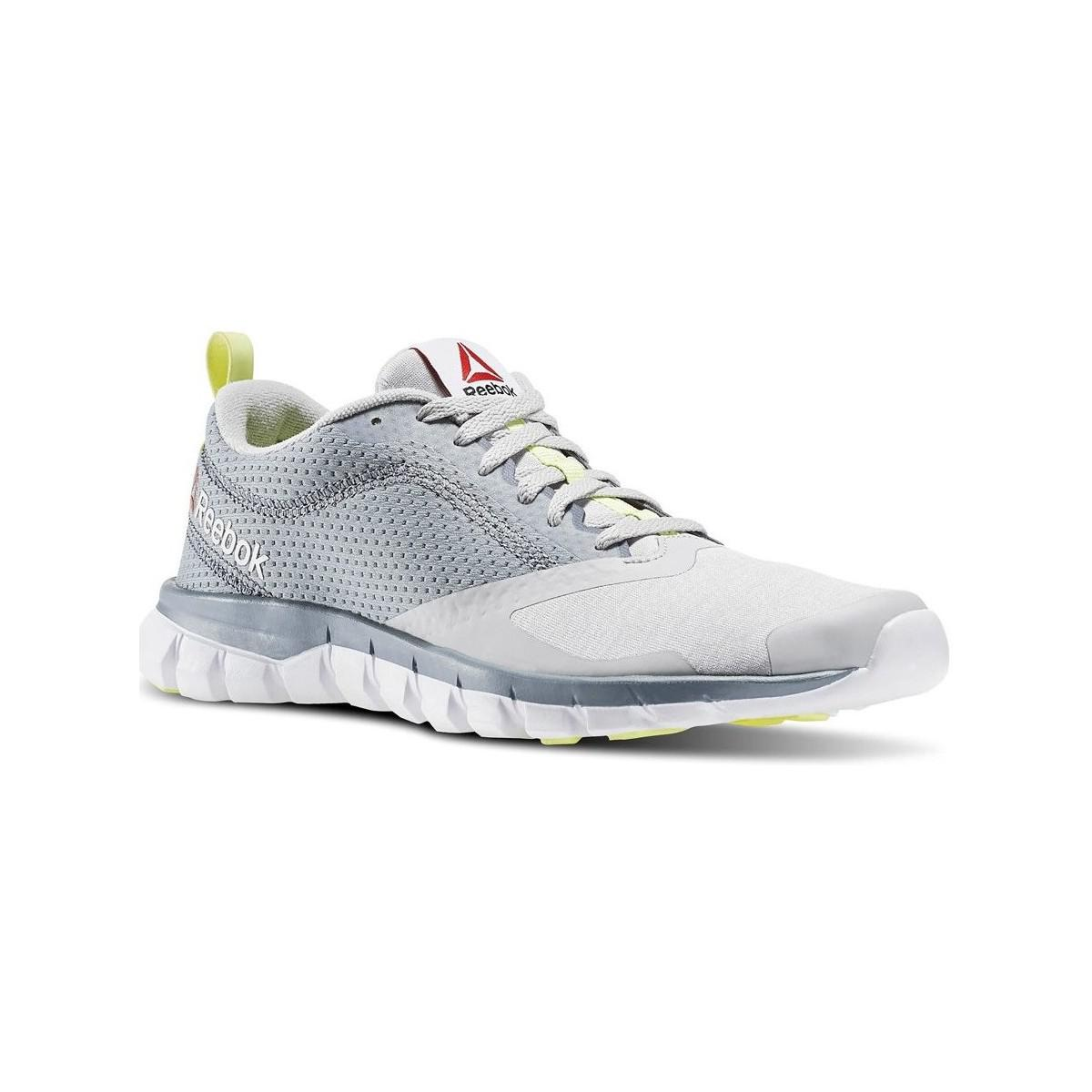 Reebok Sublite Authentic 40 Women s Shoes (trainers) In Silver in ... 98d759893