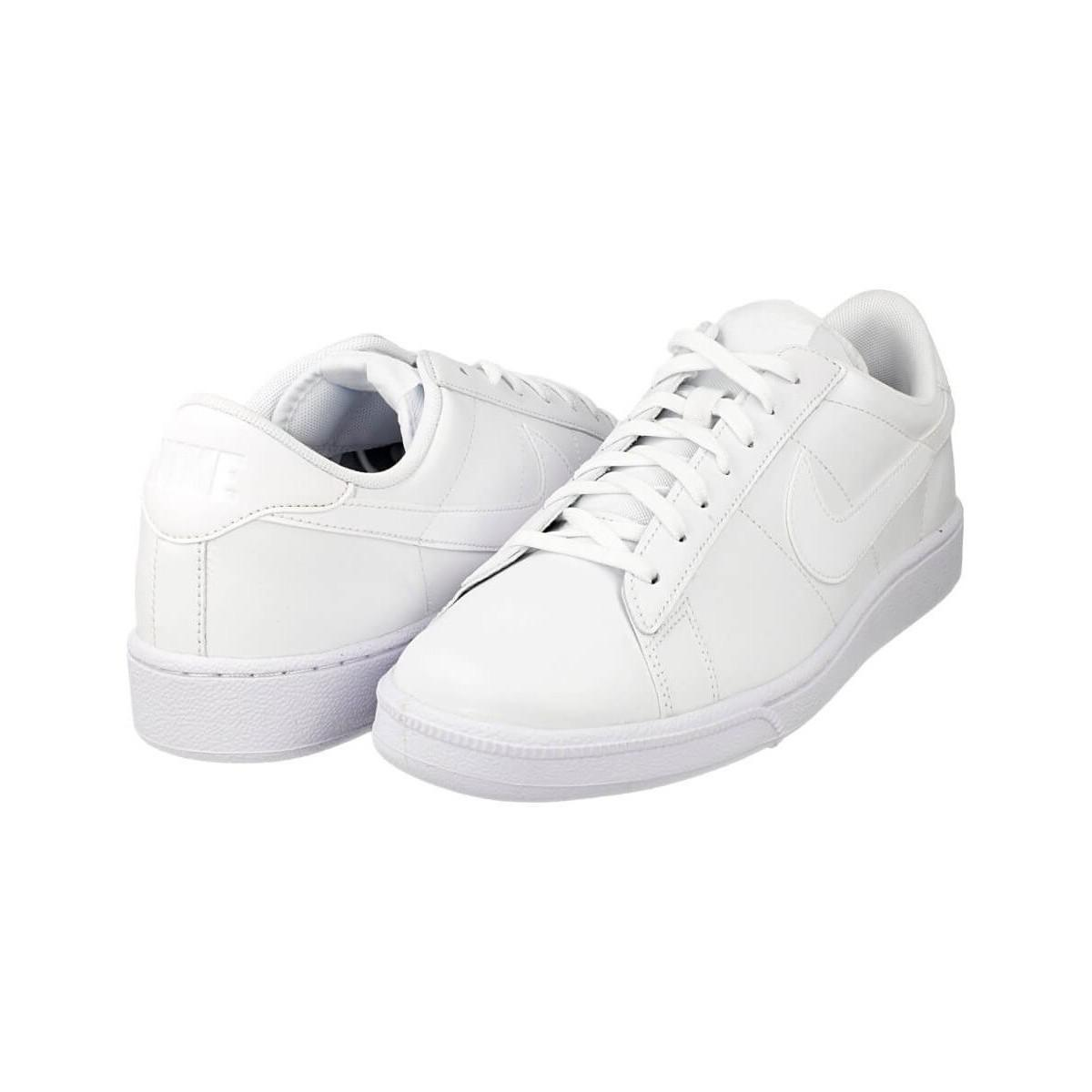 premium selection 31180 7f82a Nike Tennis Classic Cs Men s Shoes (trainers) In White in White for ...