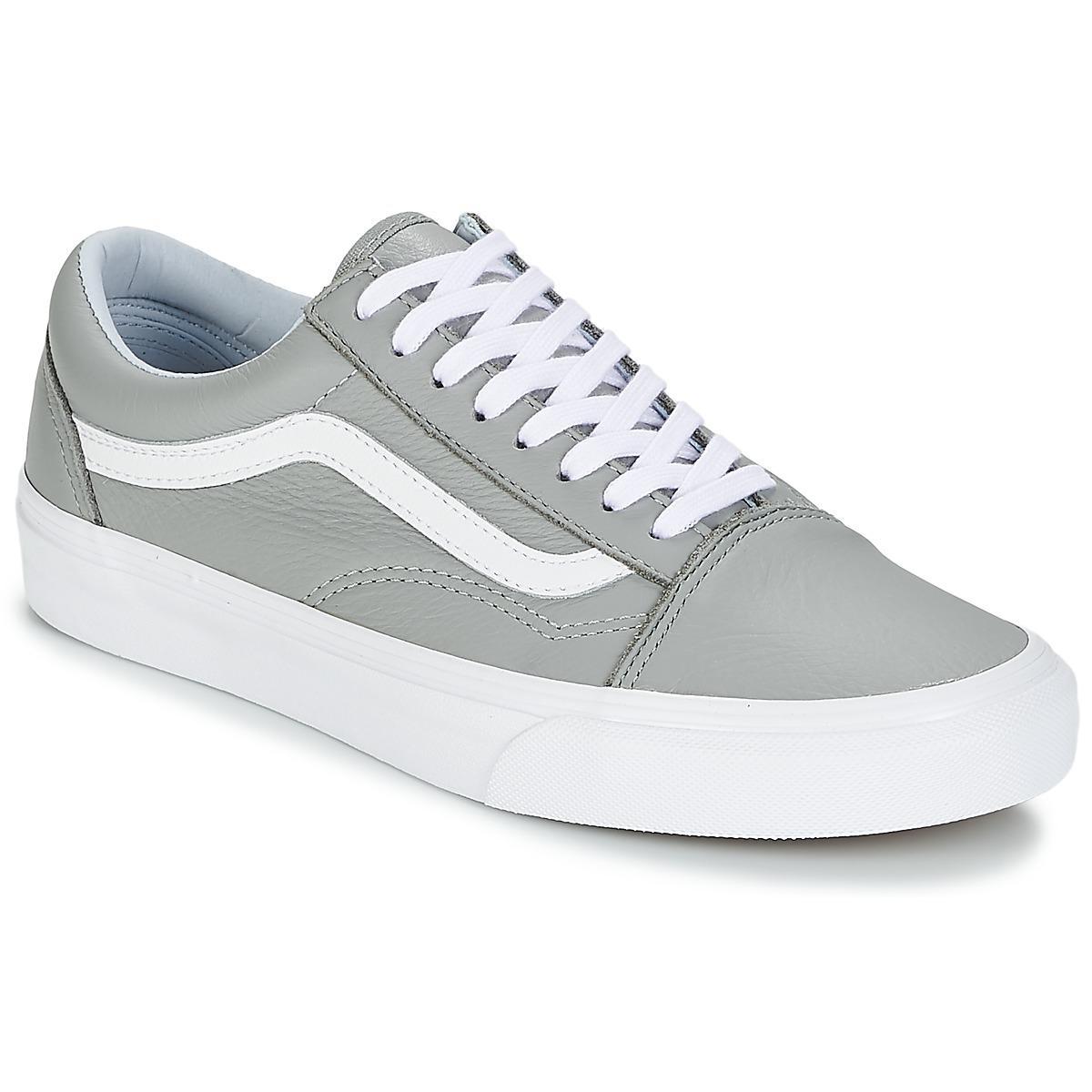 c3894c6724a8 Vans Old Skool Women s Shoes (trainers) In Grey in Gray - Lyst