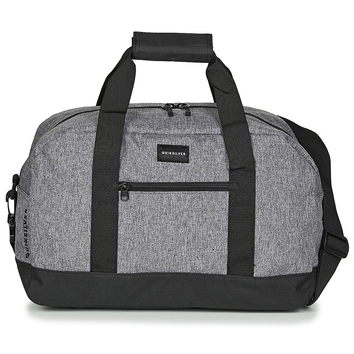 86257804f44 ... II DUFFLE BAG BLACK premium selection 42997 a98bf  Quiksilver Small  Shelter Mens Travel Bag In Grey in Gray for quality design 2d868 8aeb1 ...