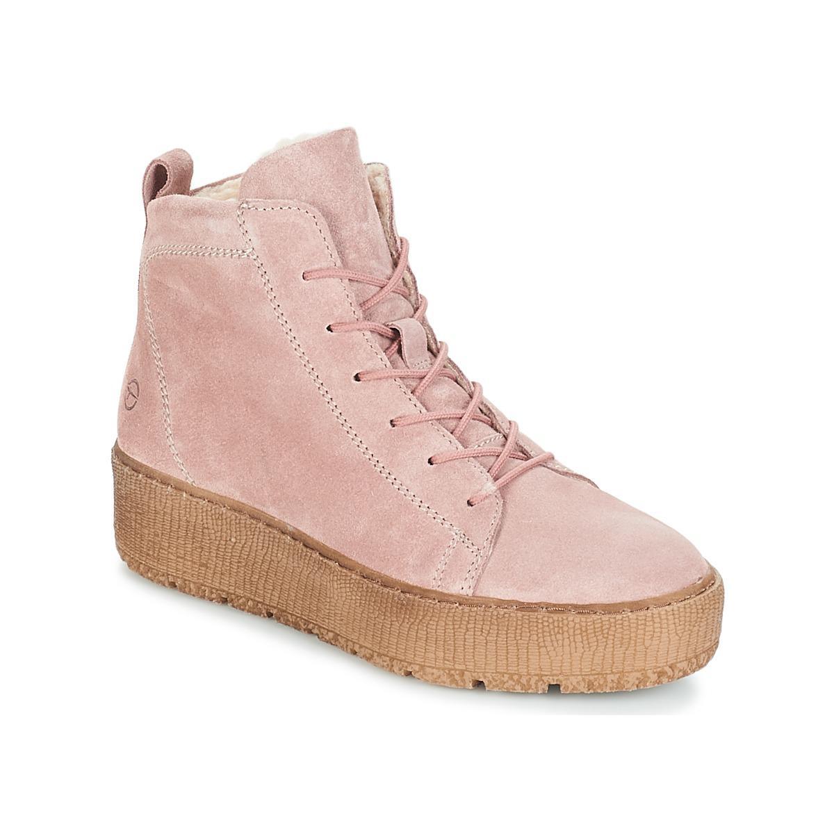 d5d44b0435538d Tamaris - Pink IMAN femmes Chaussures en rose - Lyst. Afficher en plein  écran