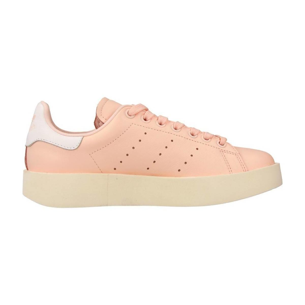 7ea49e253a7 Lyst - STAN SMITH BOLD femmes Chaussures en rose adidas en coloris Rose