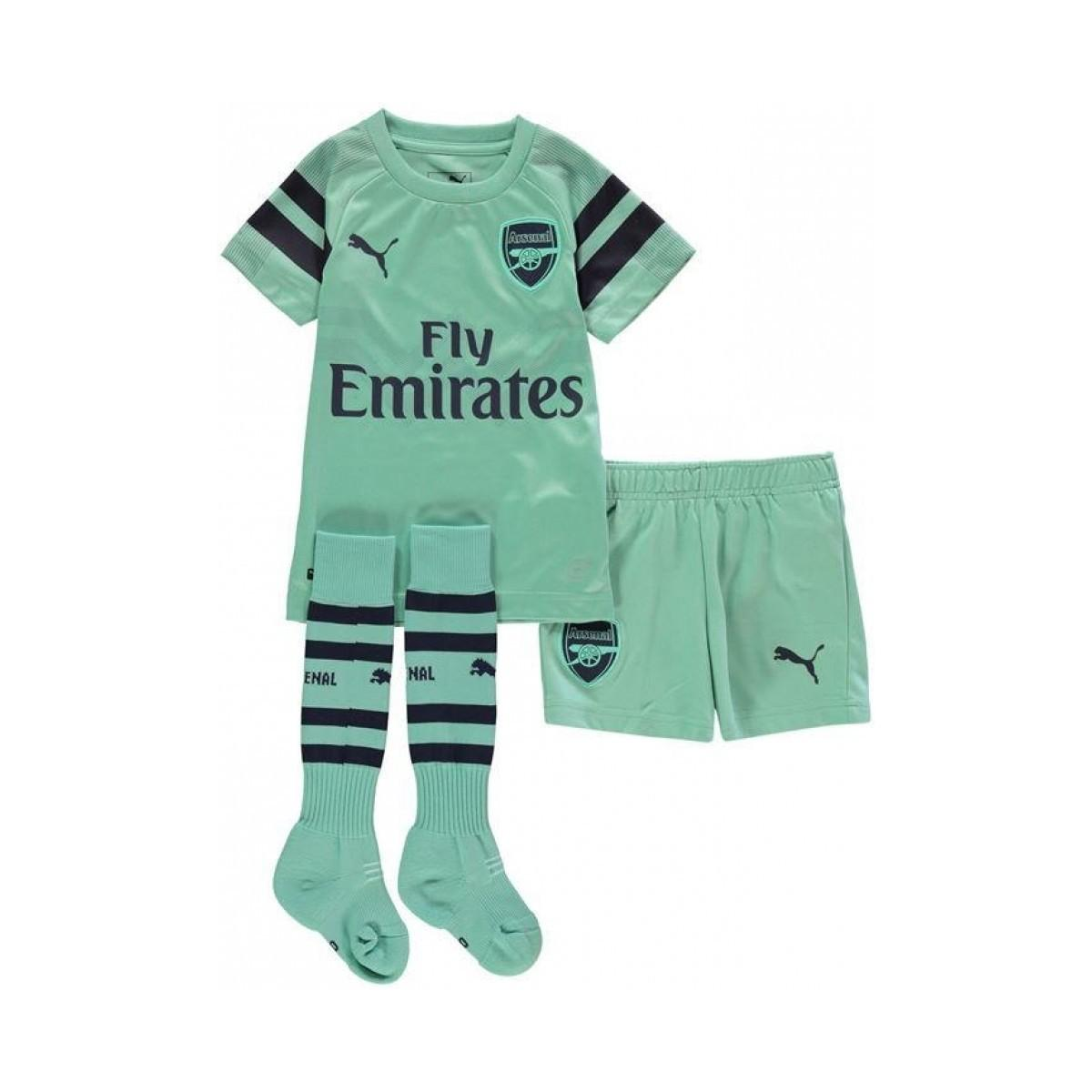 e44e9063f72 PUMA 2018-2019 Arsenal Third Little Boys Mini Kit (mkhitaryan 7 ...