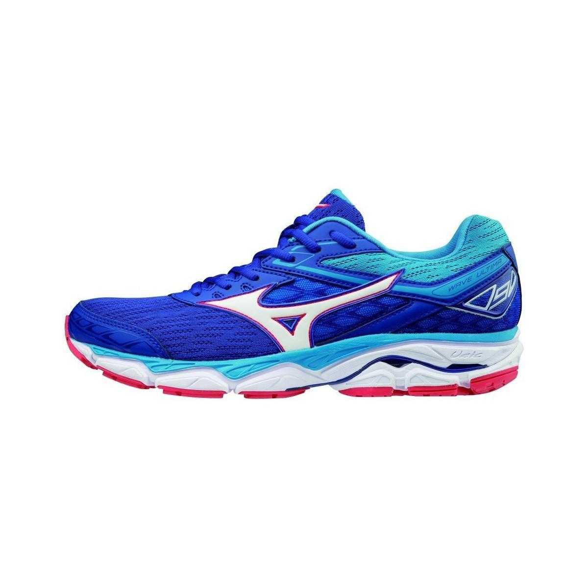eb0afb1af570 Mizuno Wave Ultima 9 Men's Shoes (trainers) In Multicolour in Blue ...