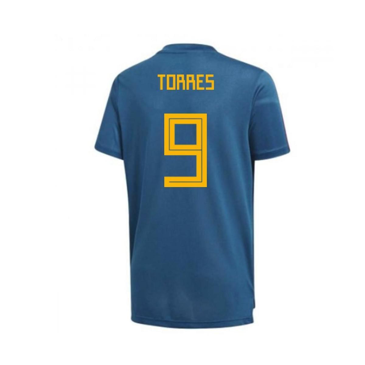 Adidas 2018-19 Spain Training Shirt (torres 9) Men s T Shirt In Blue ... 301daa228