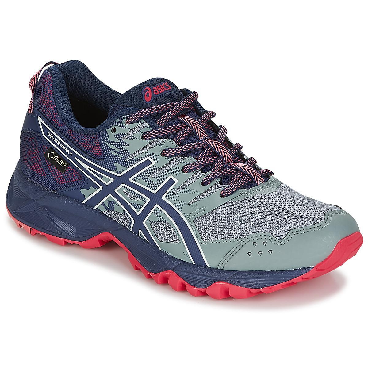 asics gortex ladies running shoes