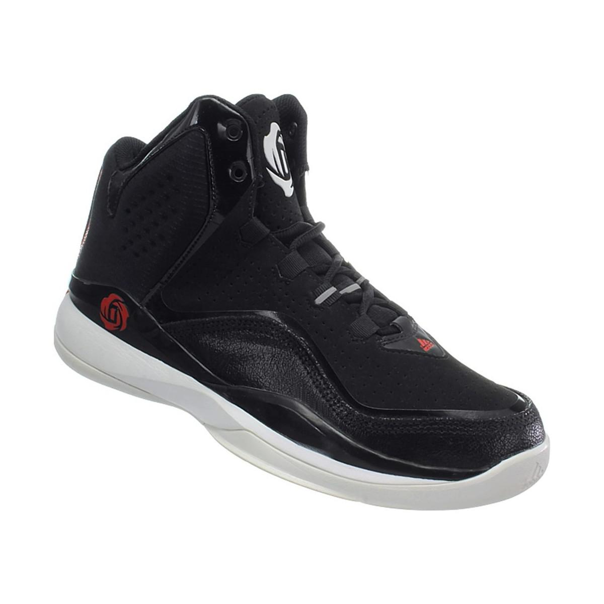 f5f4c3bf273c adidas D Rose Dominate Ii Men s Basketball Trainers (shoes) In Red ...