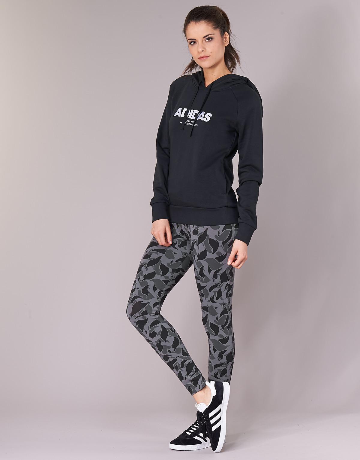 Adidas - Black Ess Allcap Oh H Sweatshirt - Lyst. View fullscreen 4ef06f0cbcd