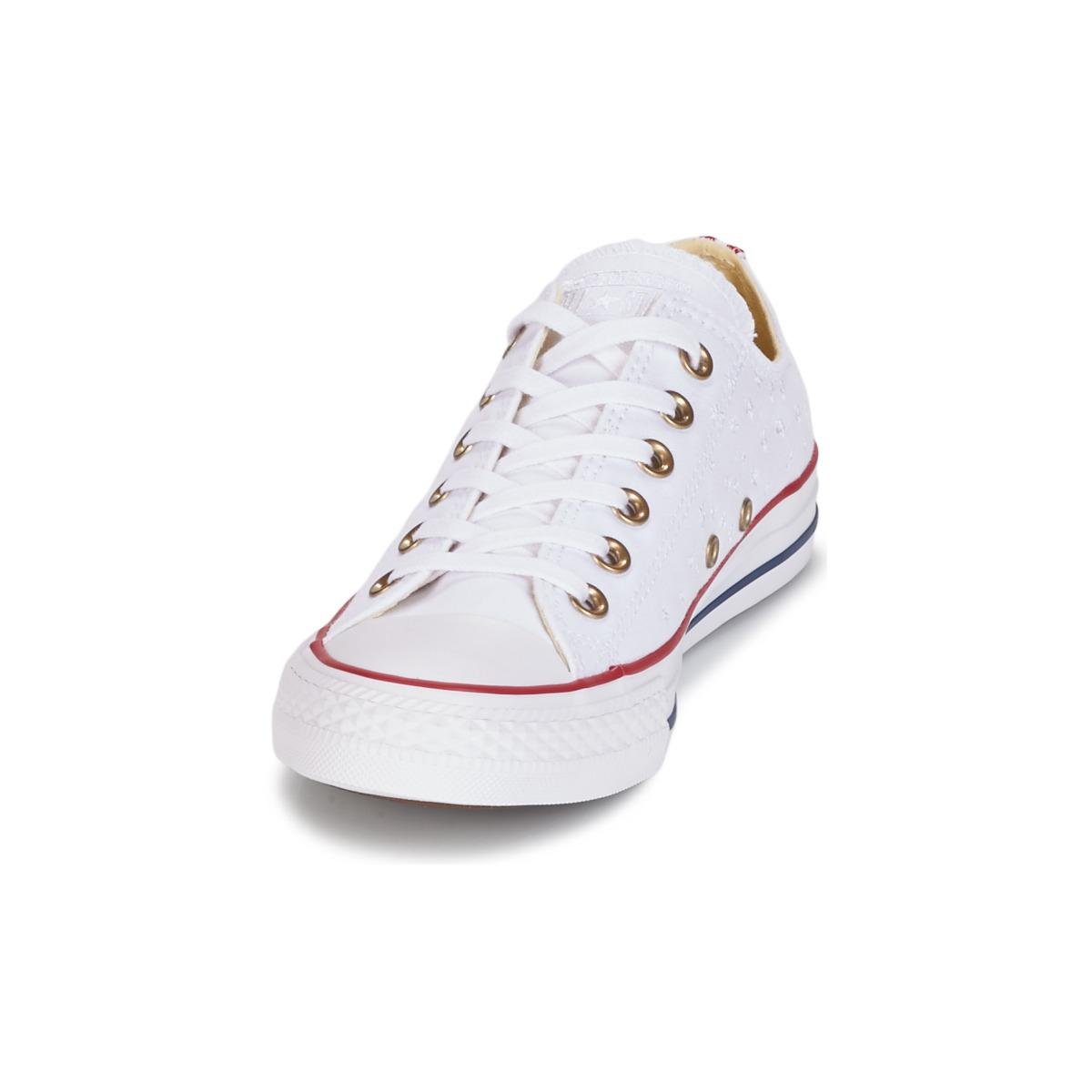 bb26b55a84e9 Converse Chuck Taylor All Star Americana Embroidery Ox Women s Shoes ...