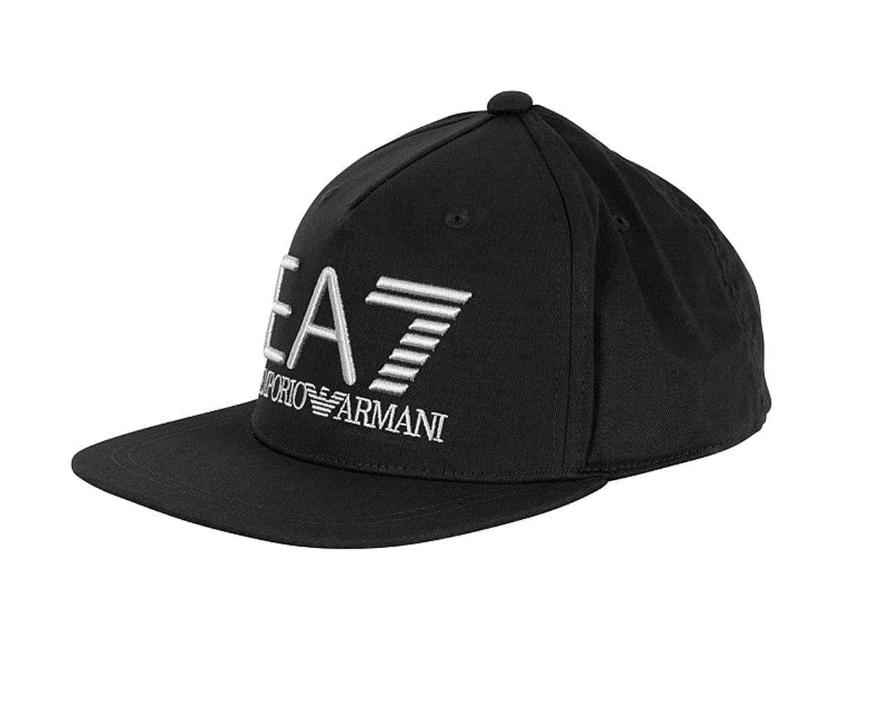 Emporio Armani Train Visibility Rapper Cap Black in Black for Men - Lyst 942d1c41b13b