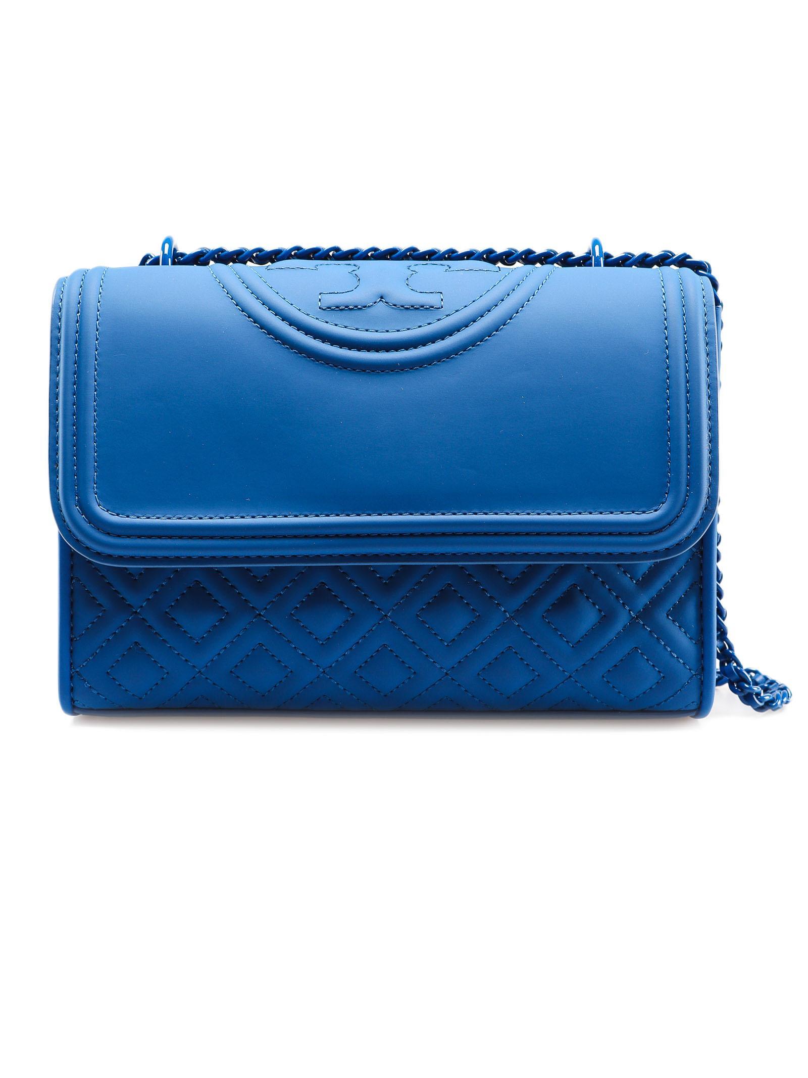 fdd20f71900 Tory Burch Fleming Conv.bag in Blue - Lyst