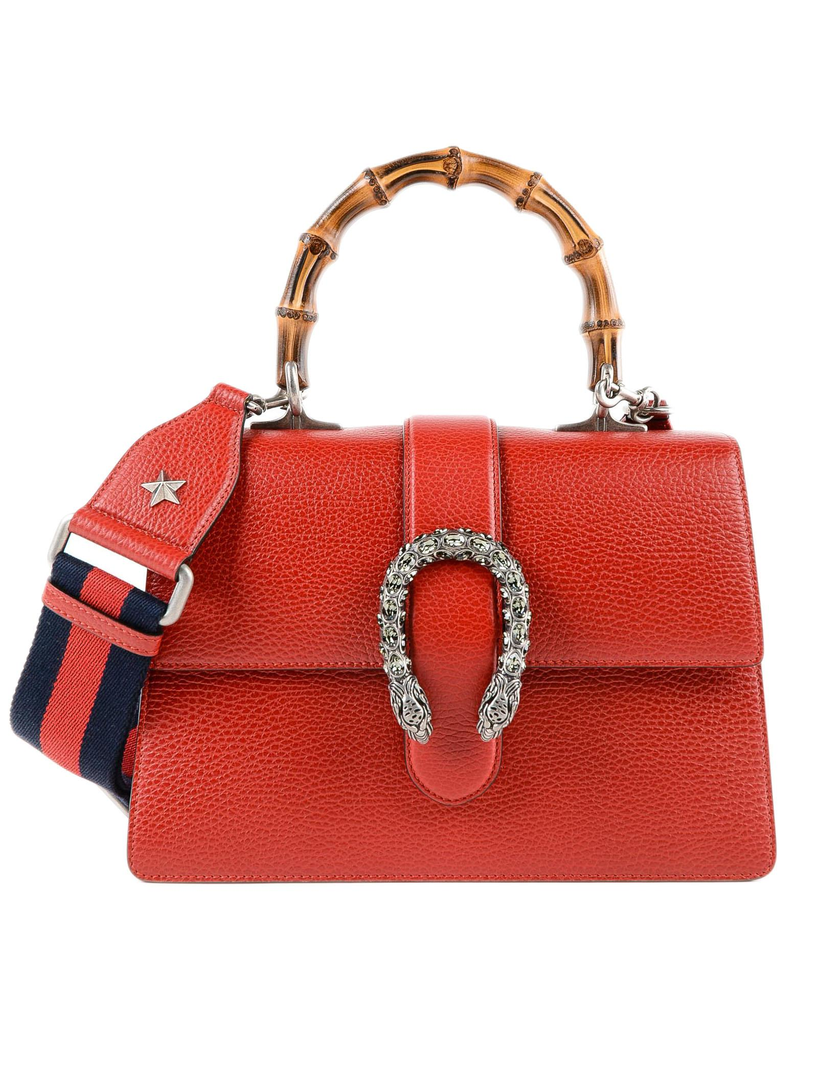 49a6c0758f5 Gucci W Dionysus Bag in Red - Lyst