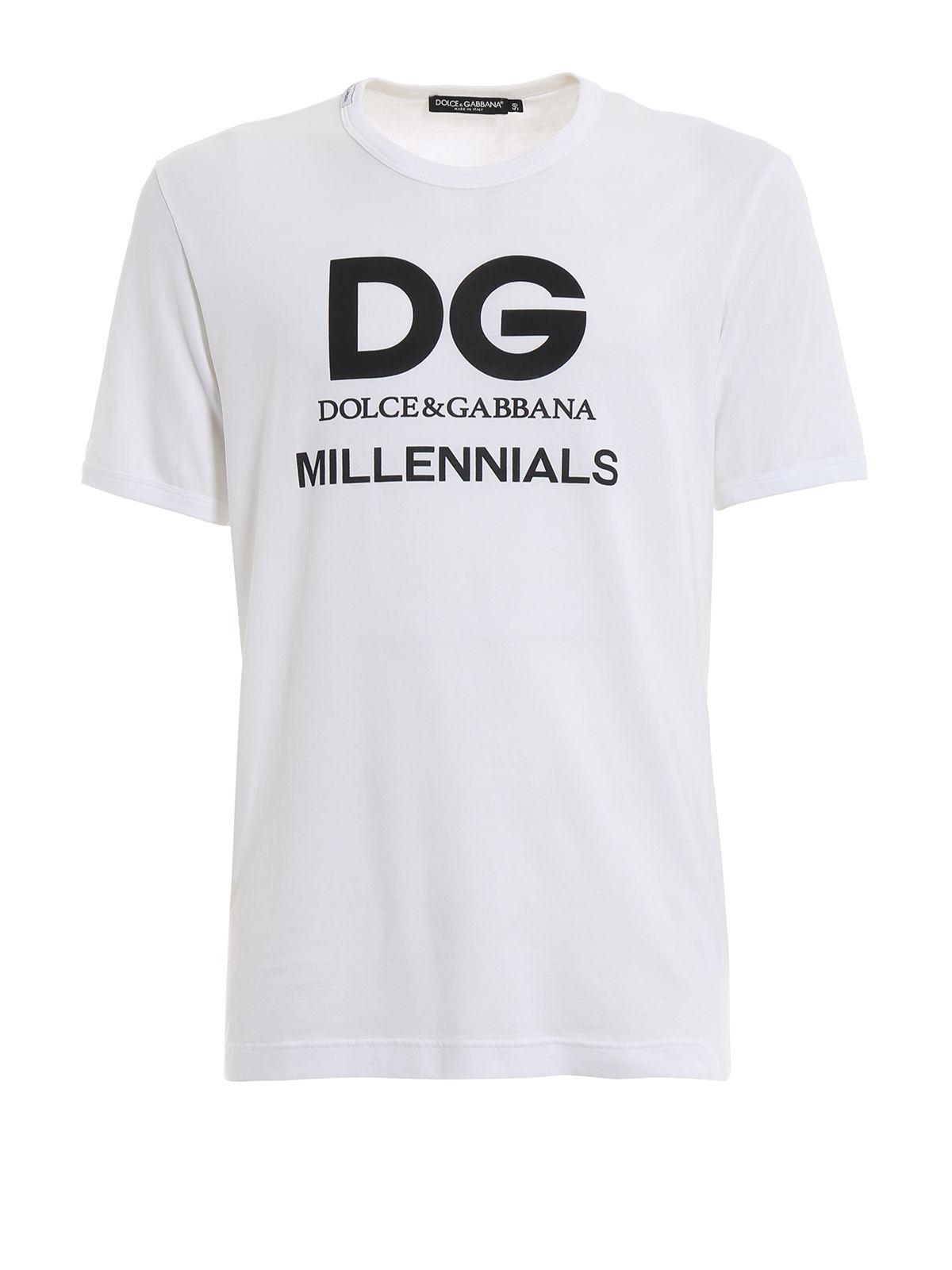 5b627f4e5 Lyst - Dolce & Gabbana T-shirt in White for Men