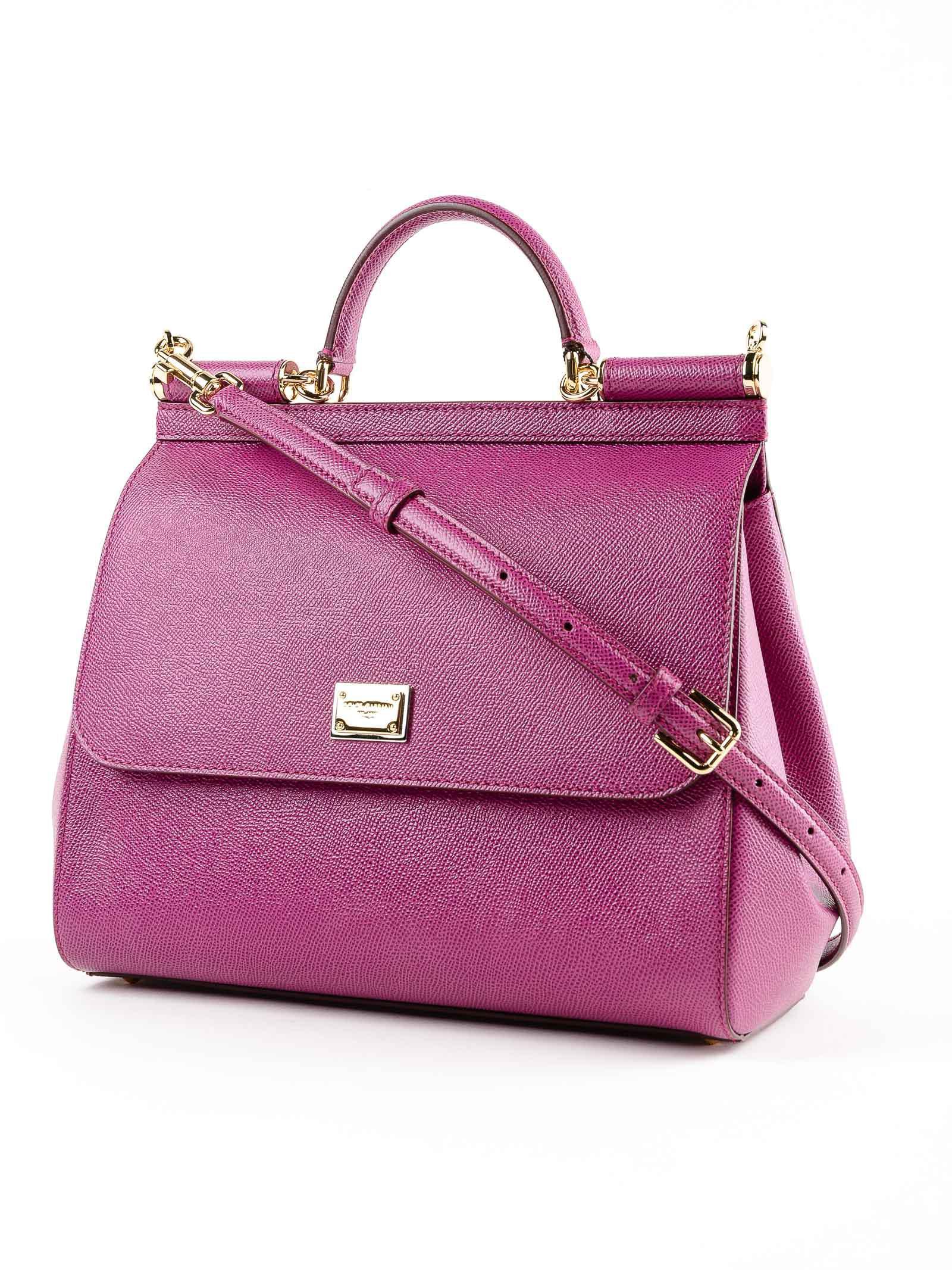 4210836db56 ... Lyst - Dolce Gabbana St.dauphine Handbag in Purple quality design 699ad  6dffd ...
