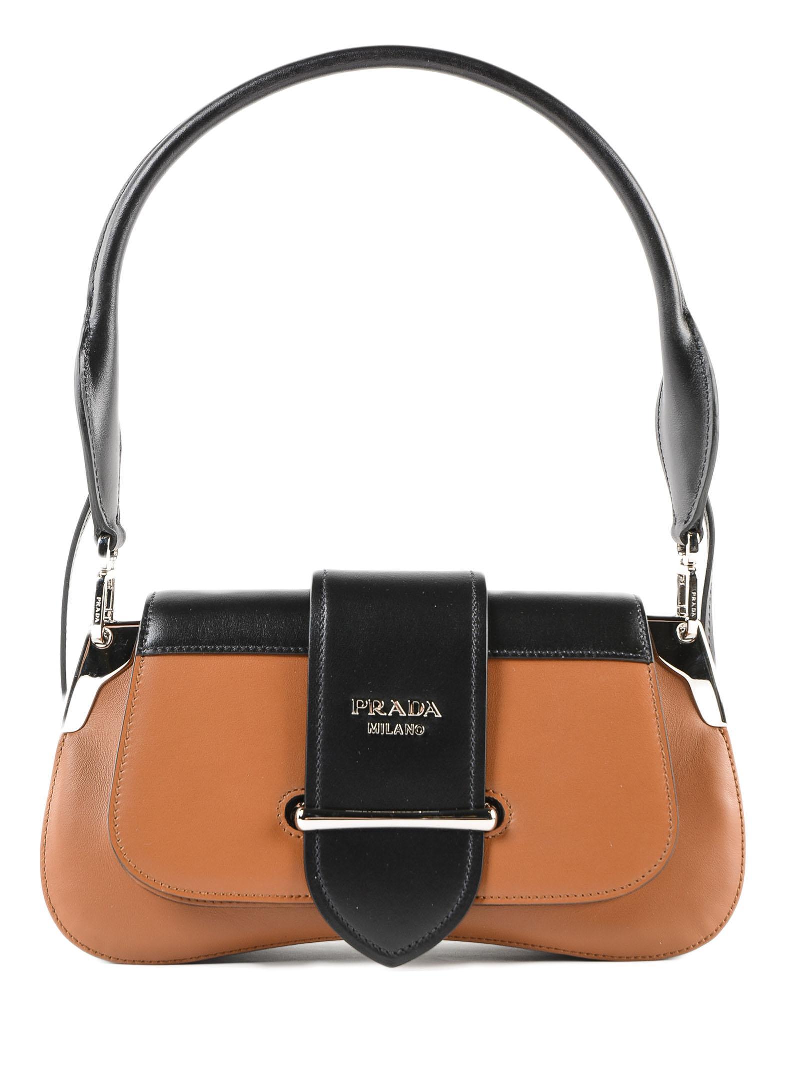 d56260dfe6062 Prada - Multicolor Shoulder Bag City Calf - Lyst
