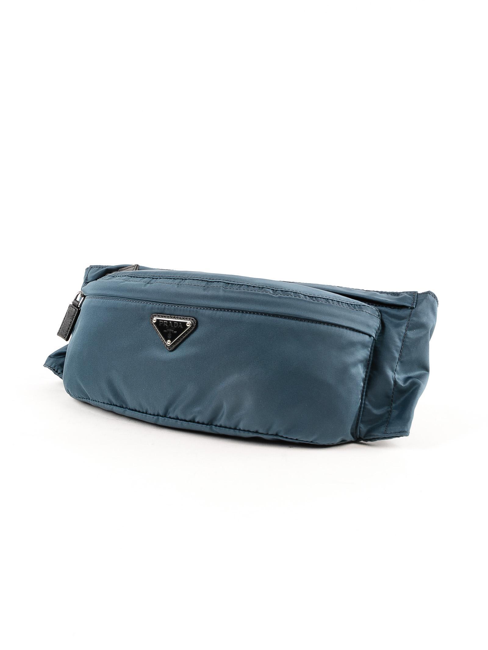 df728bd27e0408 Prada Belt Bag Tessuto Montagna in Blue for Men - Lyst