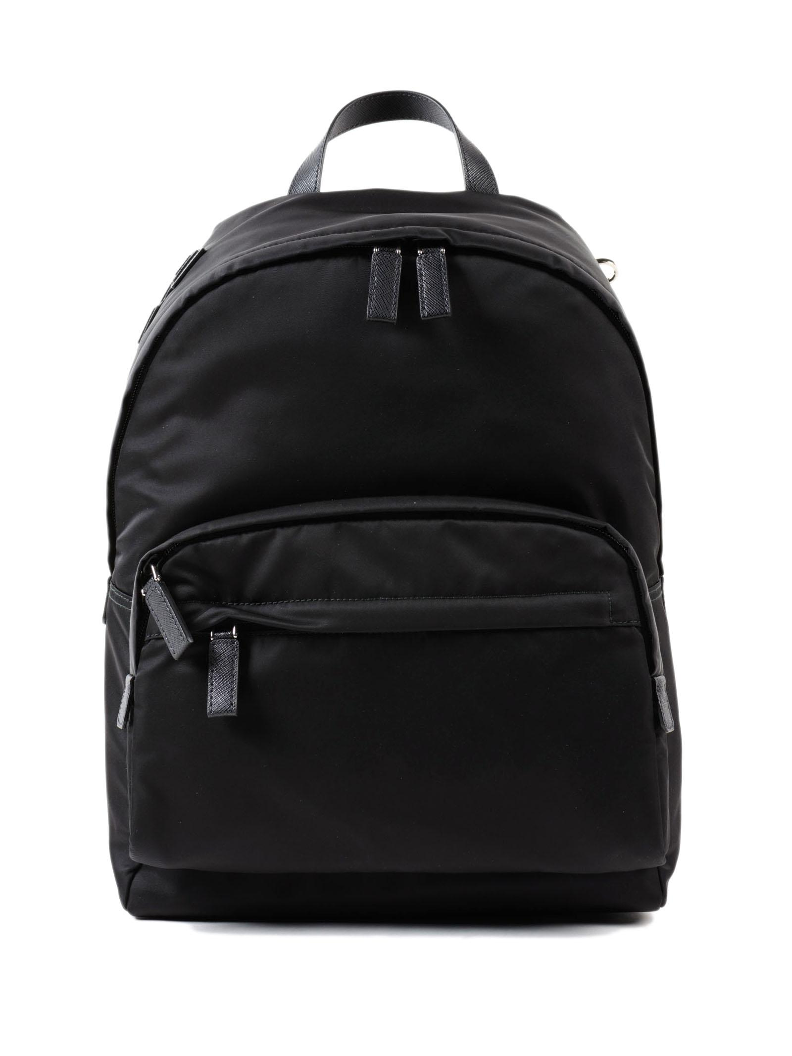 a0c3784402d8 Lyst - Prada Backpack Tessuto Montagna in Black for Men - Save 35%