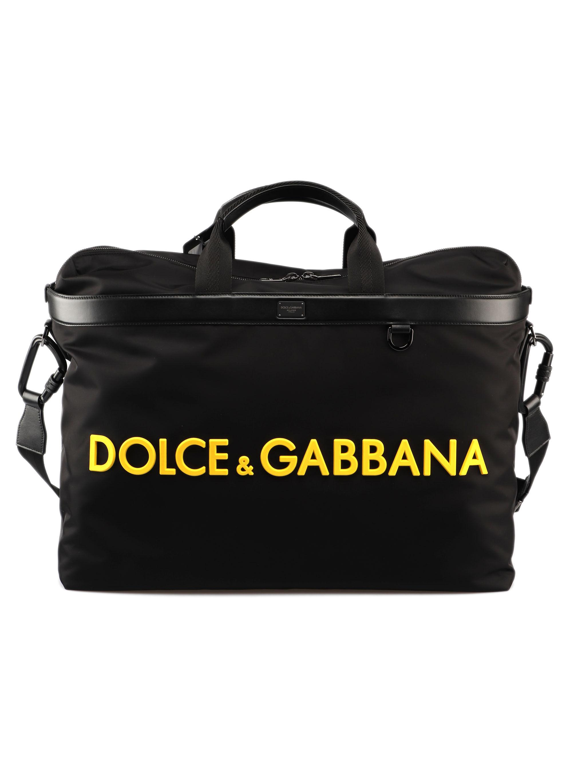 Lyst - Dolce   Gabbana Shopping Nylon+vit.mediterrane in Black for Men f52d034af80c3