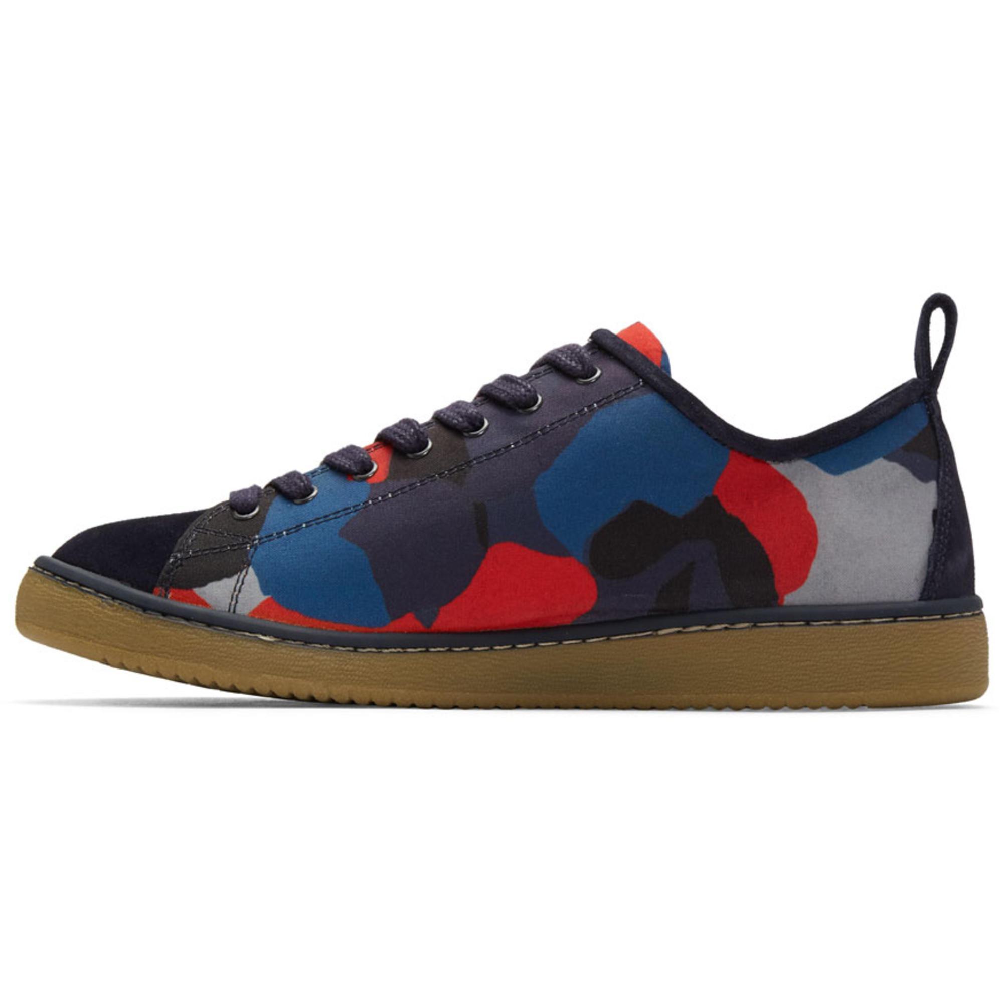 PS by Paul Smith Navy & Red Camo Miyata Sneakers 5Ae63e