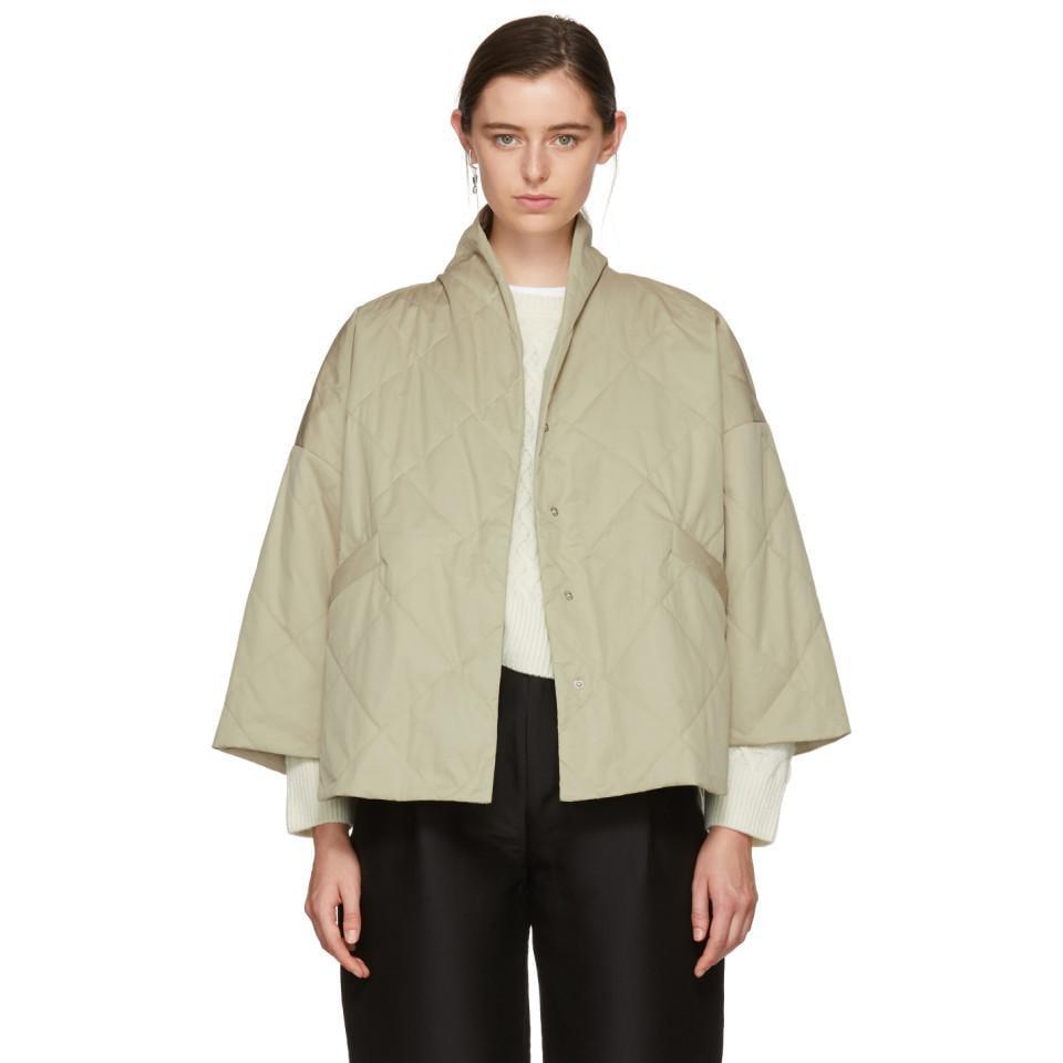 c25da29b Totême Khaki Polperro Jacket in Natural - Lyst