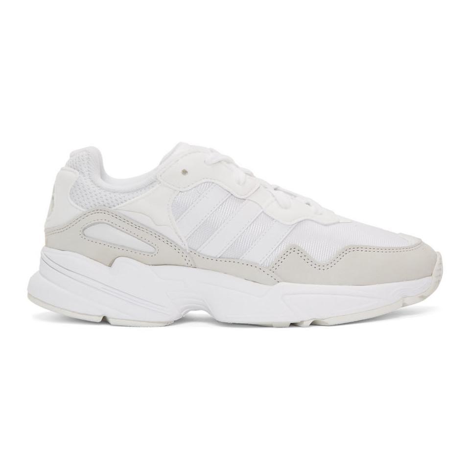 wholesale dealer 7e91f 34b7e adidas Originals. Men s White Yung 96 Sneakers