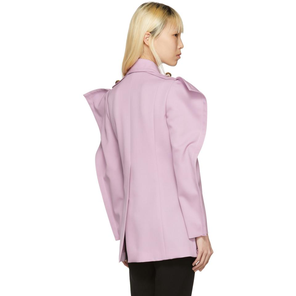 Purple Twill Coat Nina Ricci Hot Sale For Sale Prices yjpFdn