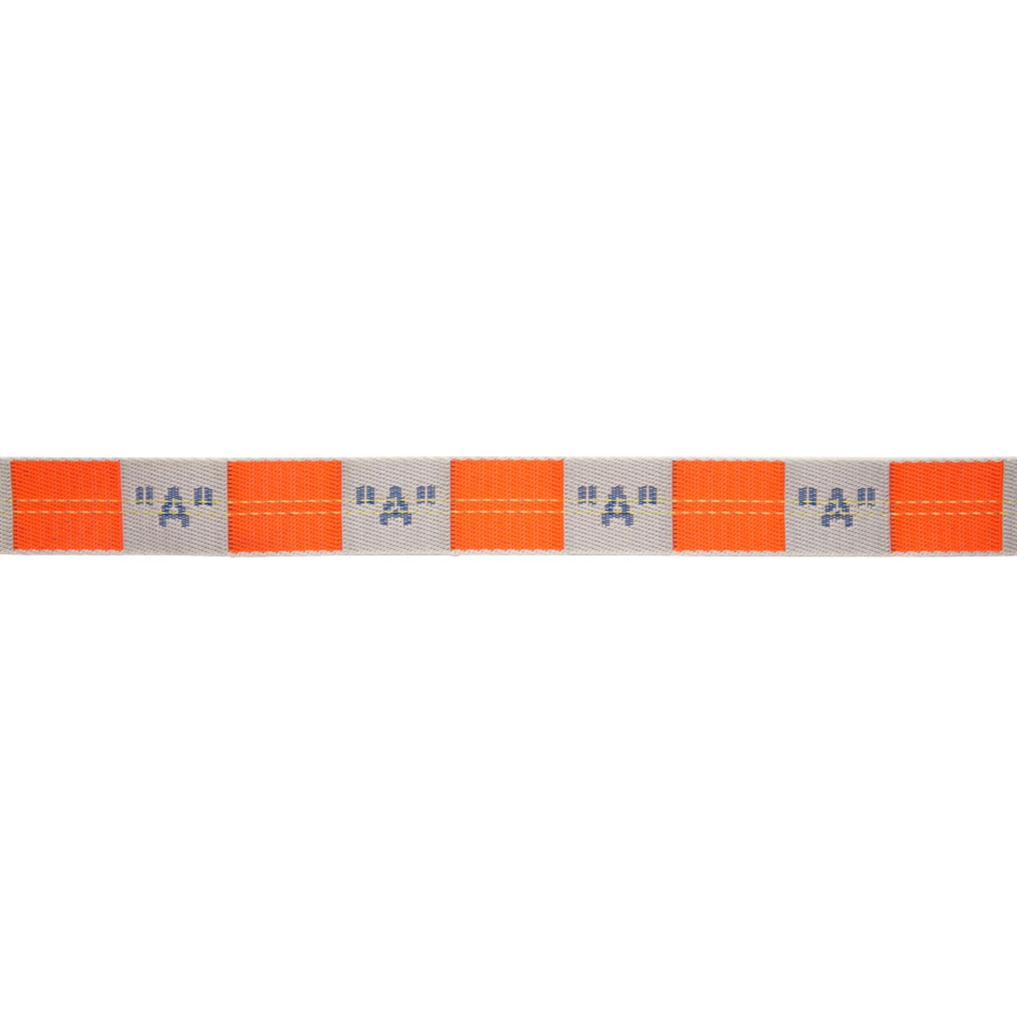 Lyst - Ceinture orange et grise A Industrial Off-White c o Virgil ... 82ccc47d122