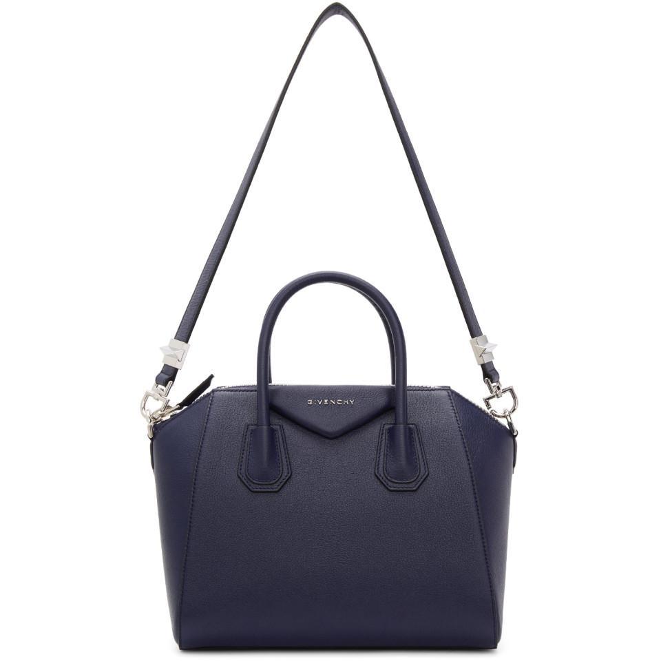 7b0e03a97dd1 Givenchy blue navy small antigona bag view fullscreen jpg 960x960 Givenchy  navy antigona