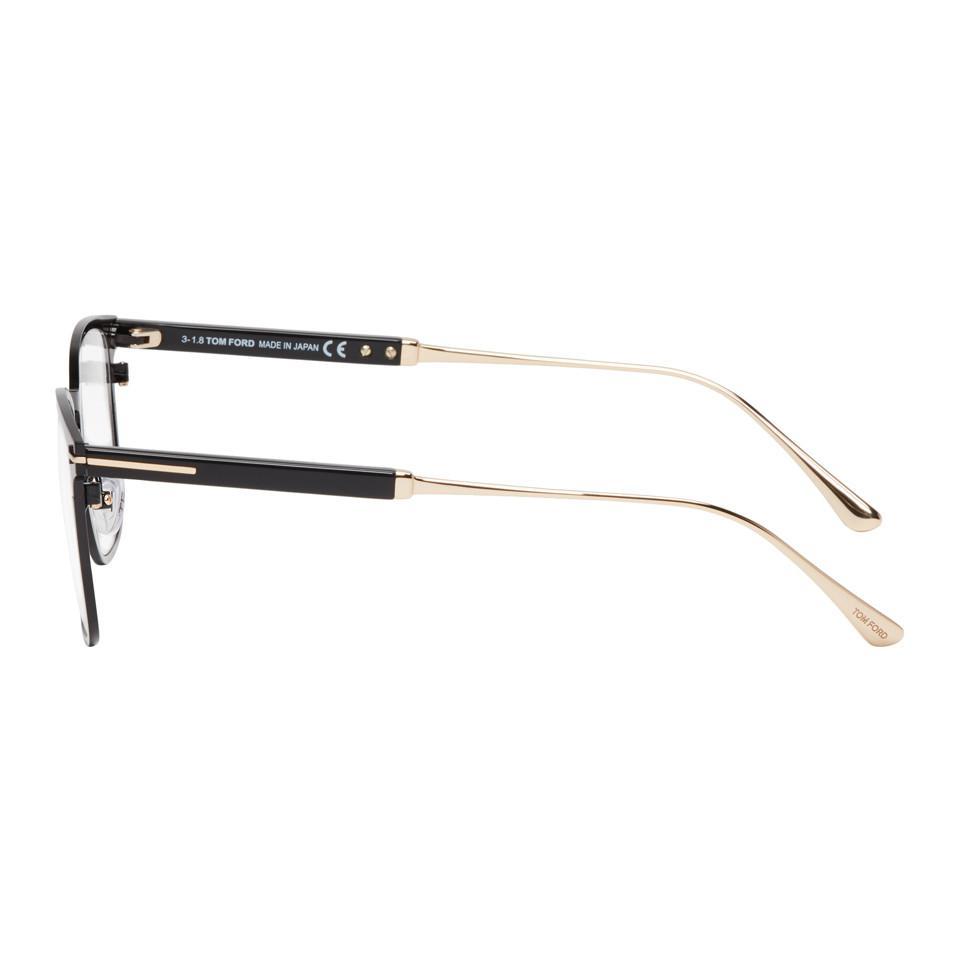e40715c61d3a7 Tom Ford Black Ft5483 Glasses in Black for Men - Lyst