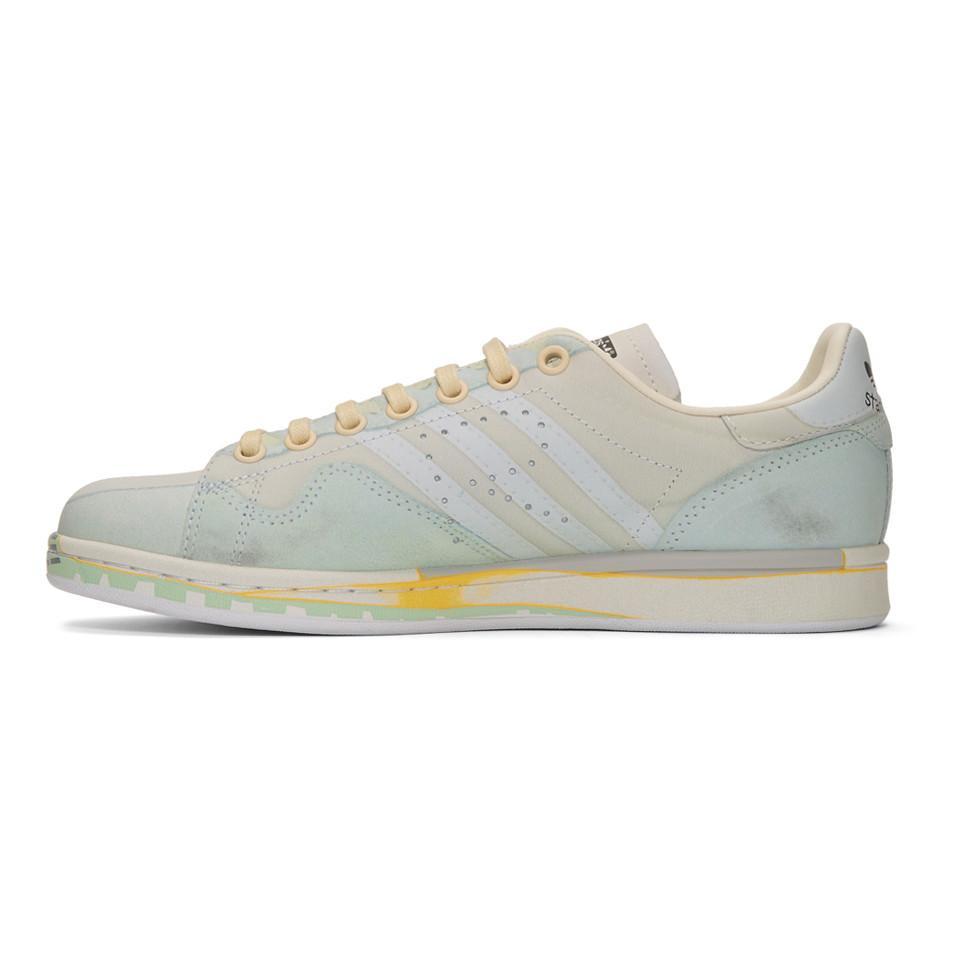 Raf Simons Leather Off white Adidas Originals Edition