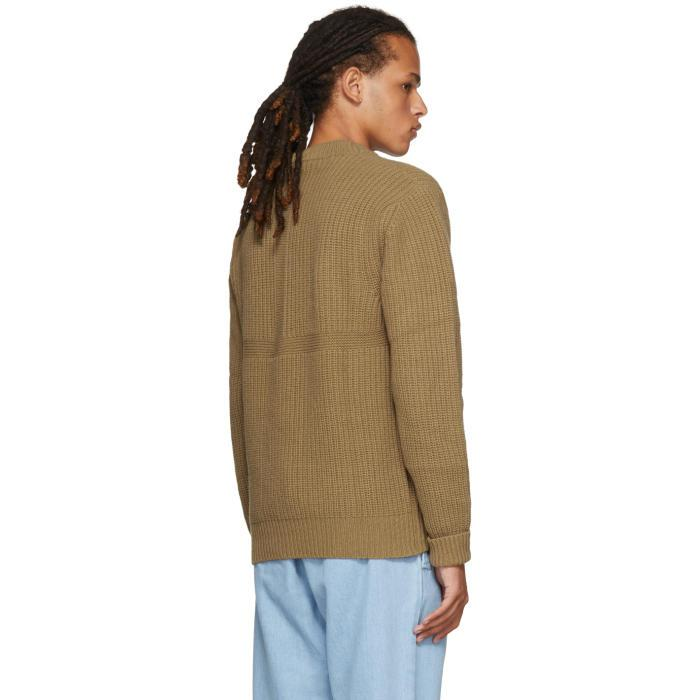 Hollister Oberbekleidung Returns Exchanges Hollister Pullover Hollister Hoodies Hollister Jeans: Etudes Studio Brown Echo Crewneck Sweater In Brown