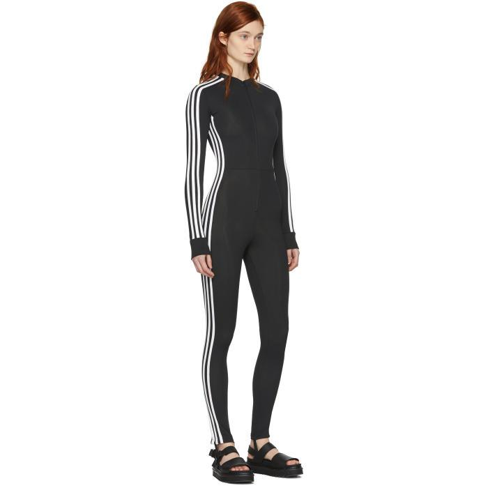 cb74d211e36b adidas Originals Black Stage Jumpsuit in Black - Lyst