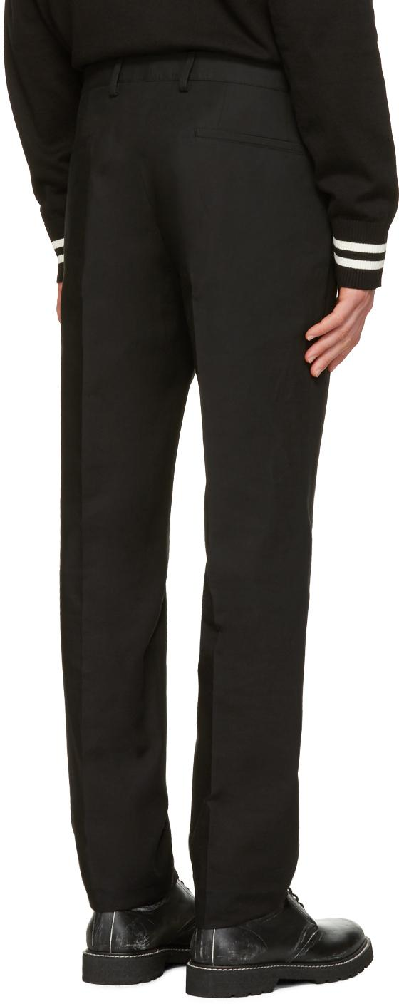 Calvin klein Black Exact Trousers in Black for Men | Lyst